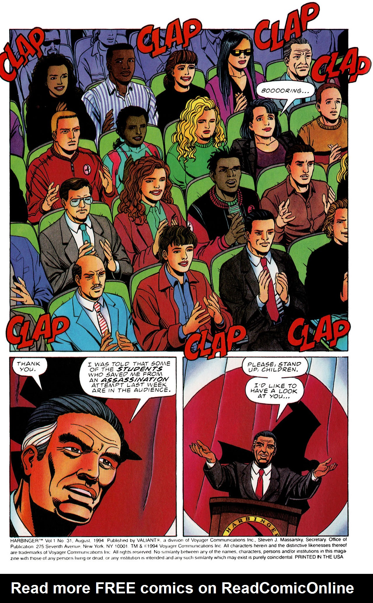 Read online Harbinger (1992) comic -  Issue #31 - 3