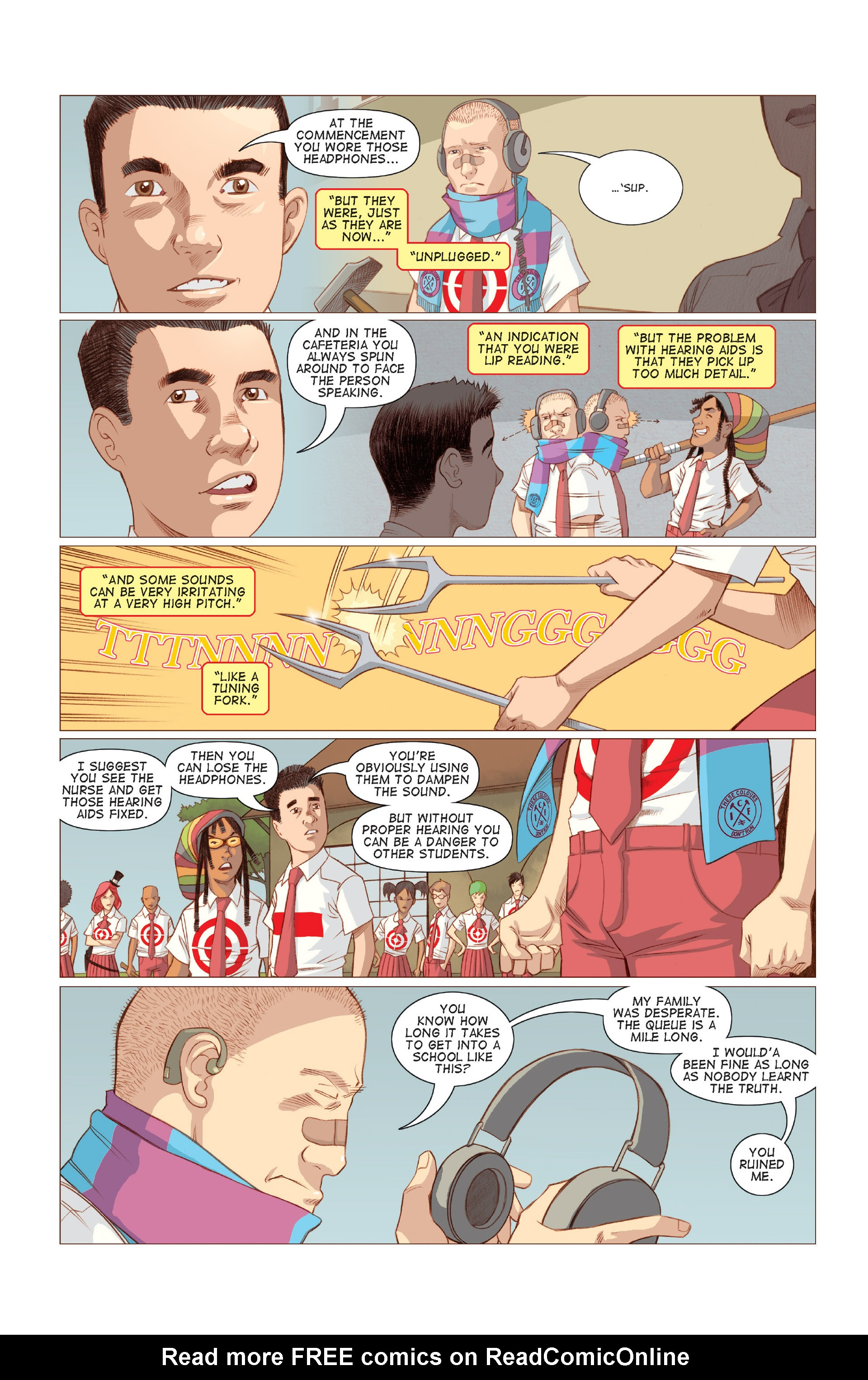 Read online Five Weapons comic -  Issue #7 - 5
