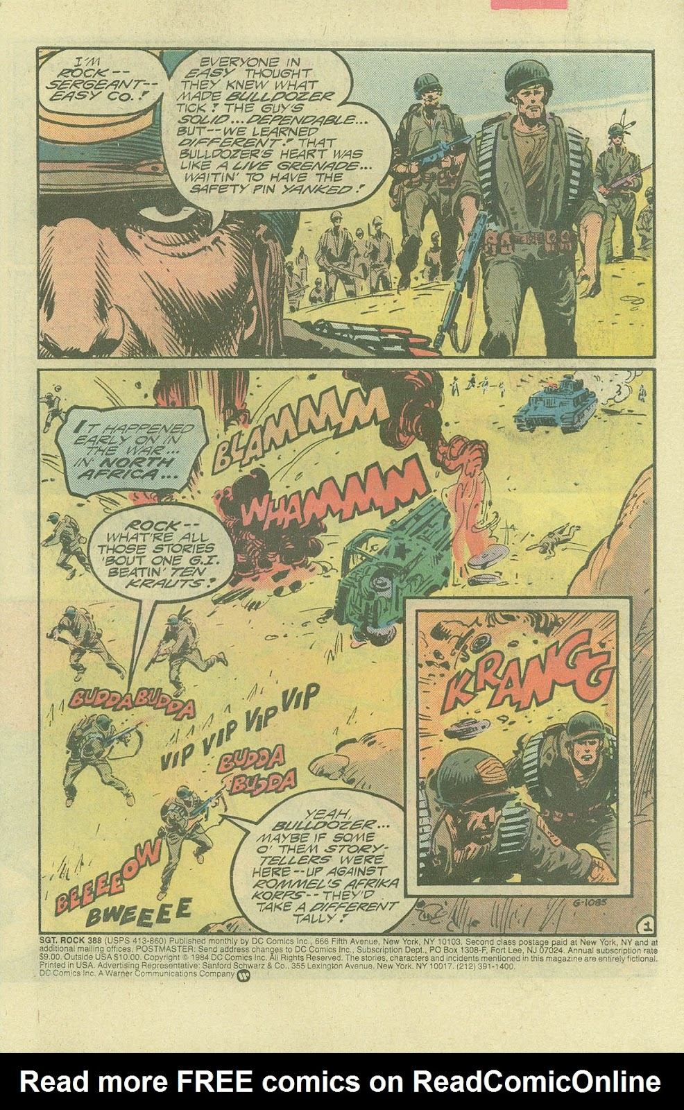 Sgt. Rock issue 388 - Page 3