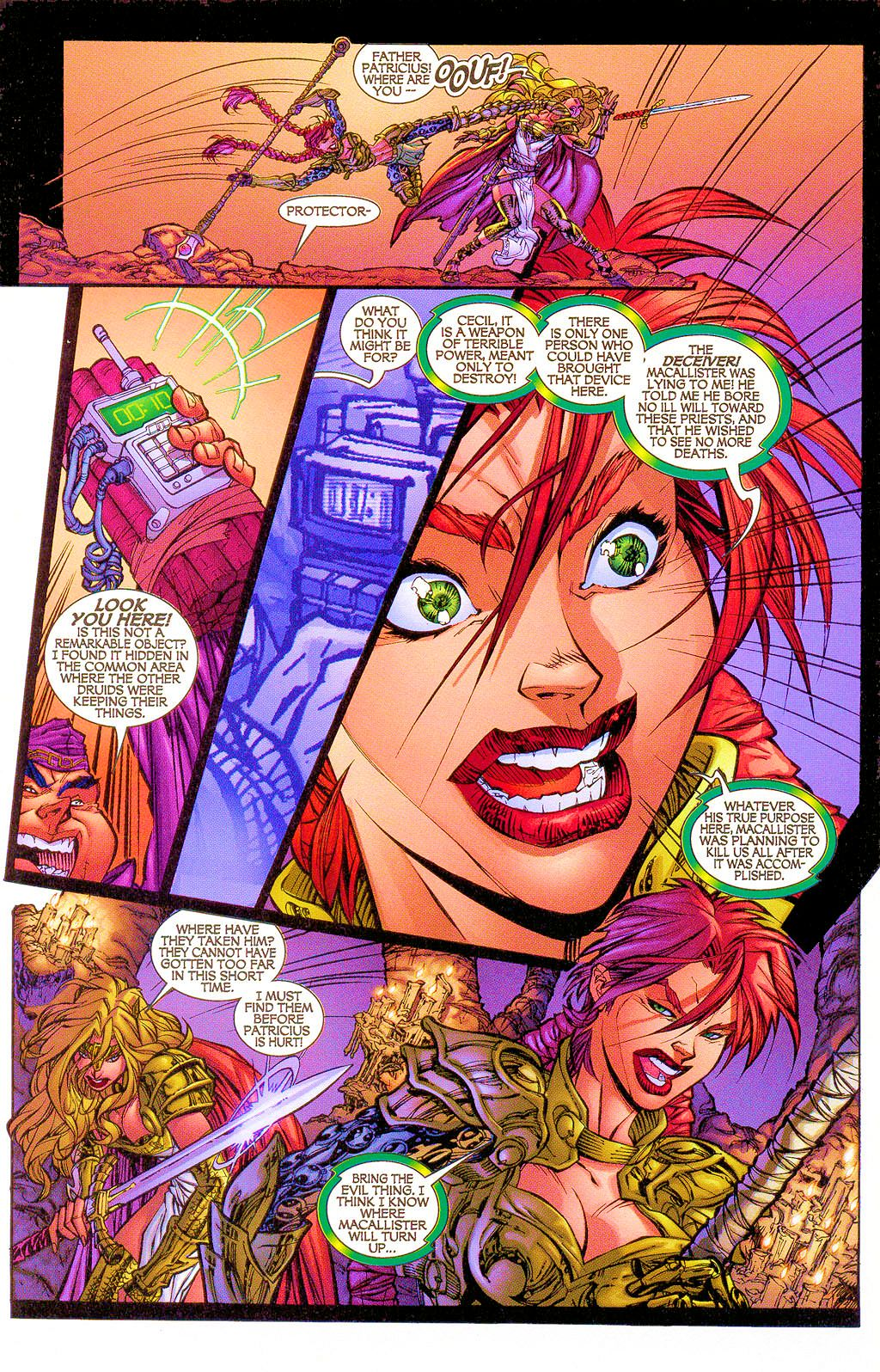 Read online Lady Pendragon / More Than Mortal comic -  Issue #1 - 16