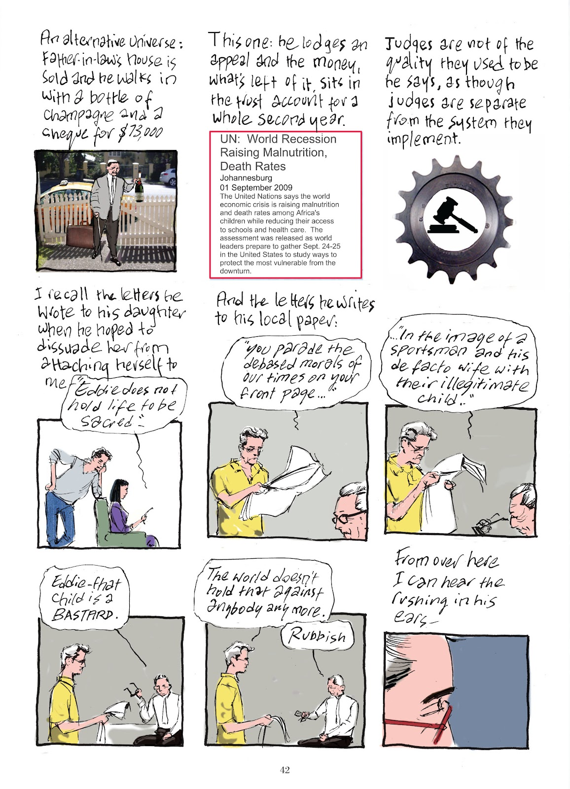 Read online The Lovely Horrible Stuff comic -  Issue # TPB - 44