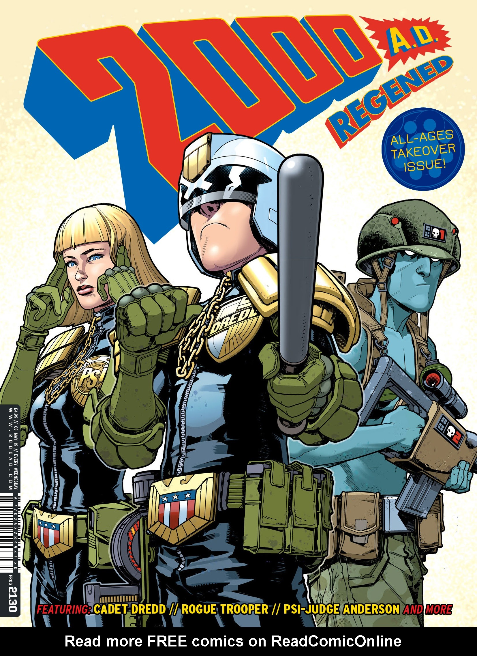 2000 AD 2130 Page 1