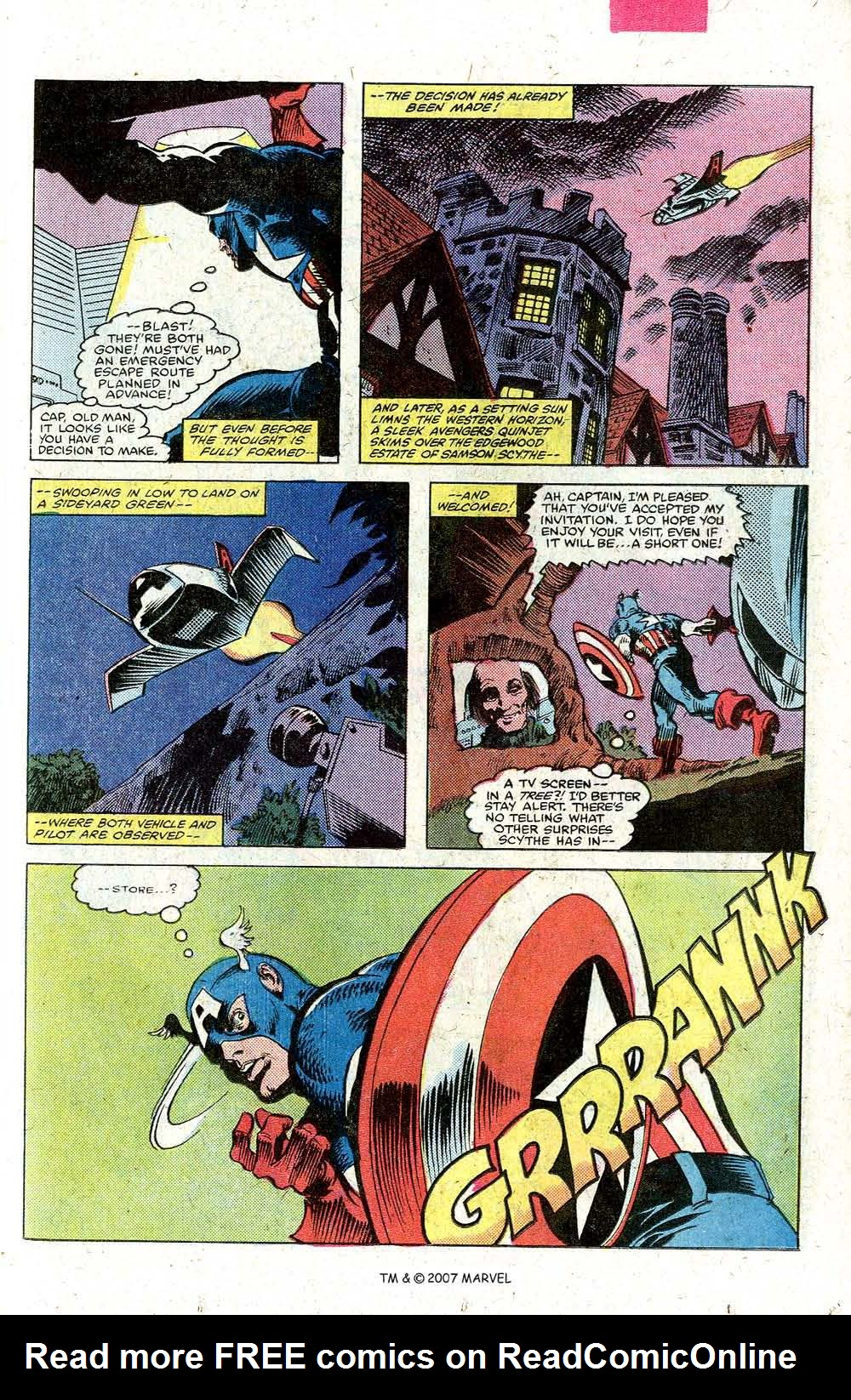 Read online Captain America (1968) comic -  Issue # _Annual 5 - 39