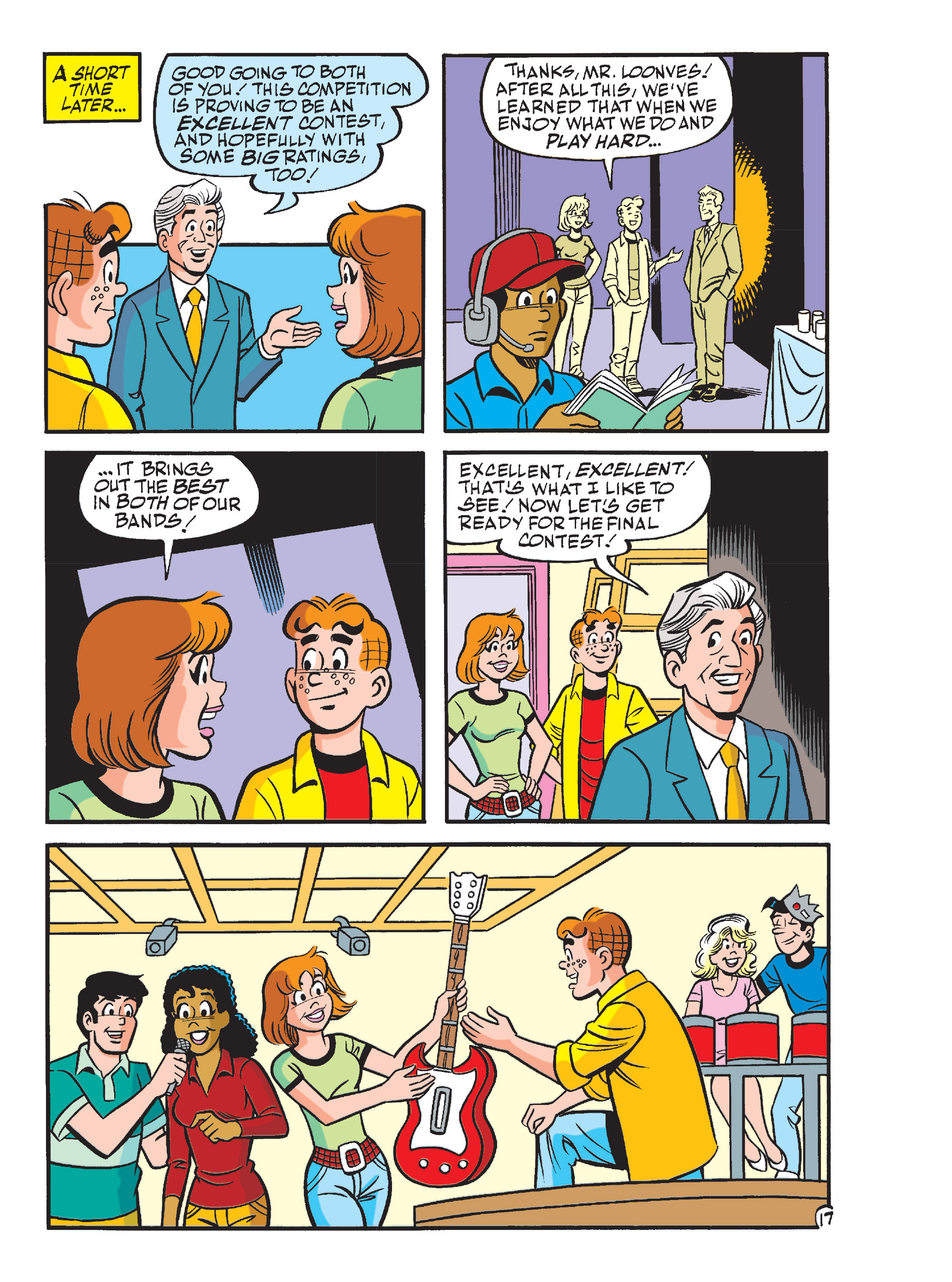 Read online Archie's Funhouse Double Digest comic -  Issue #13 - 52