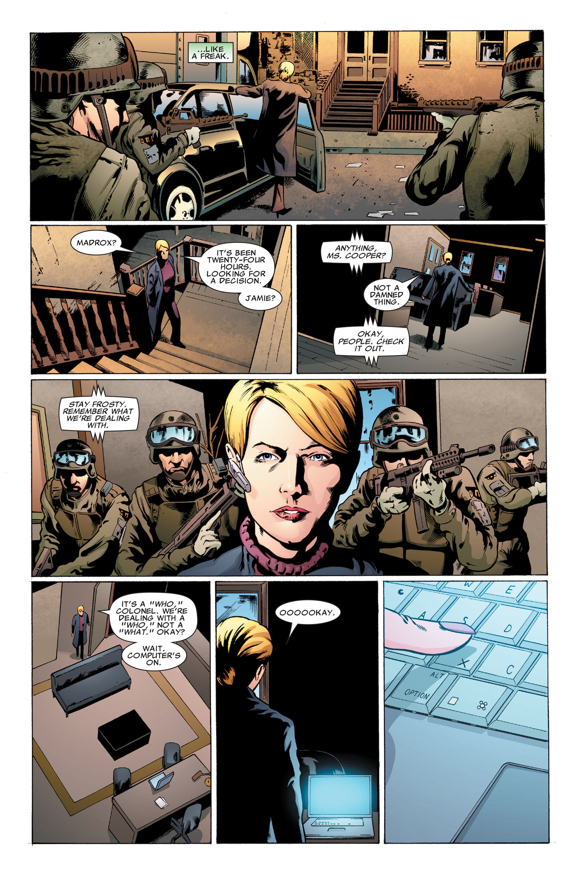 Read online X-Factor (2006) comic -  Issue #32 - 19