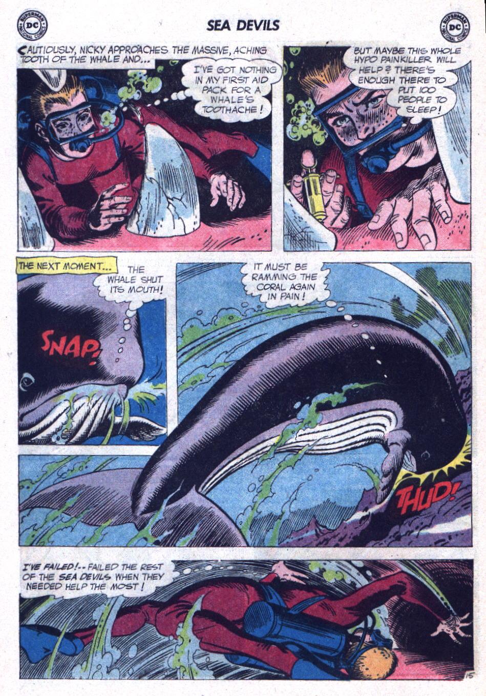 Read online Sea Devils comic -  Issue #9 - 21
