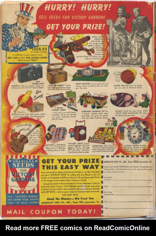 Read online Super-Magician Comics comic -  Issue #13 - 68