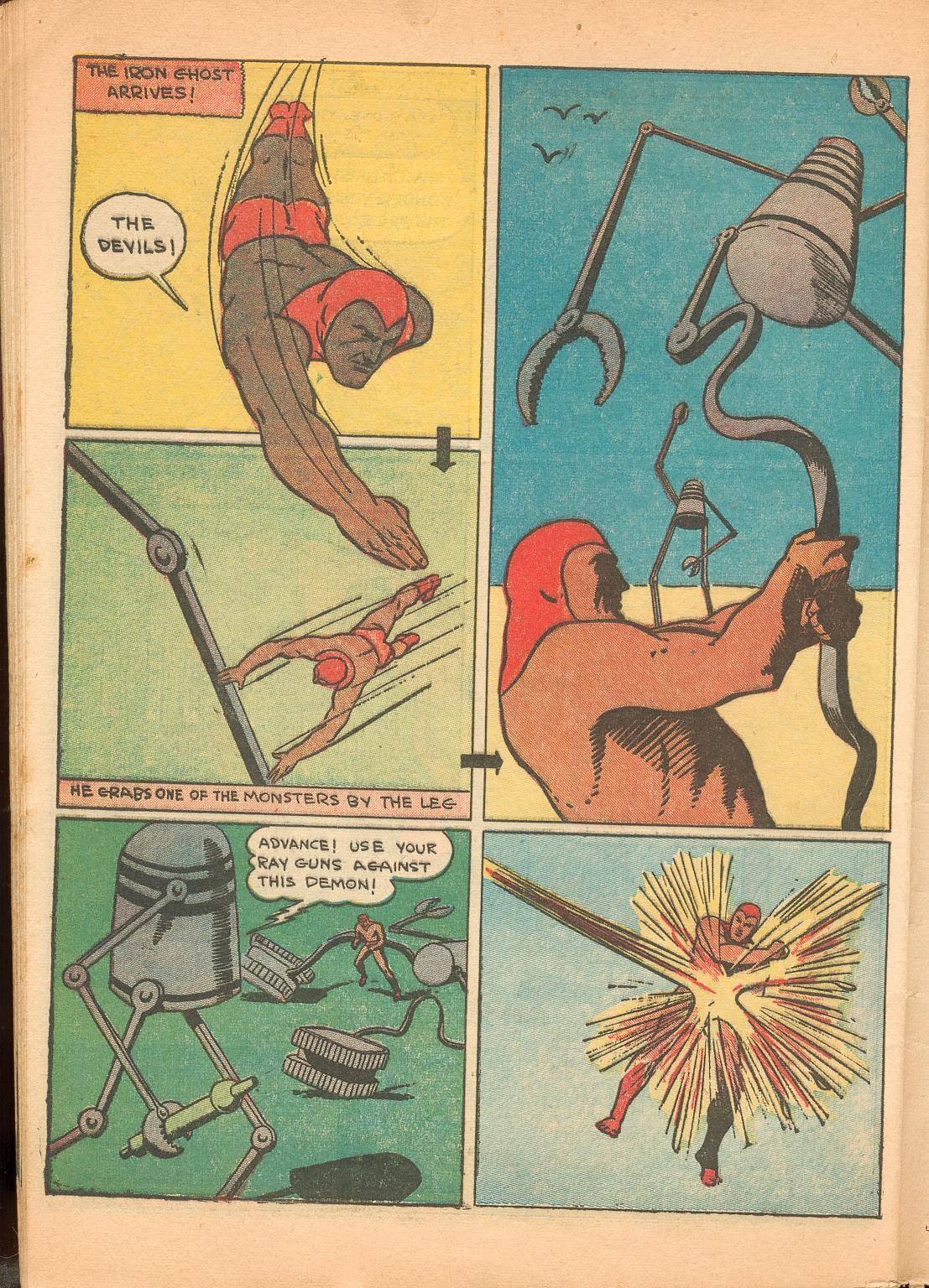 Read online Shadow Comics comic -  Issue #11 - 60