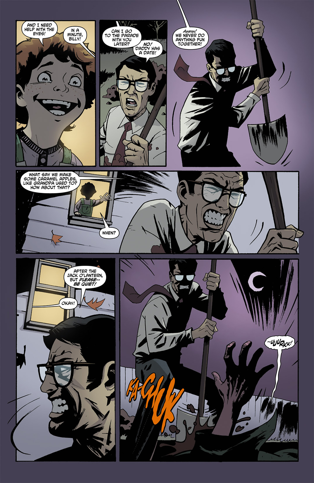 Read online Trick 'r Treat comic -  Issue #1 - 20