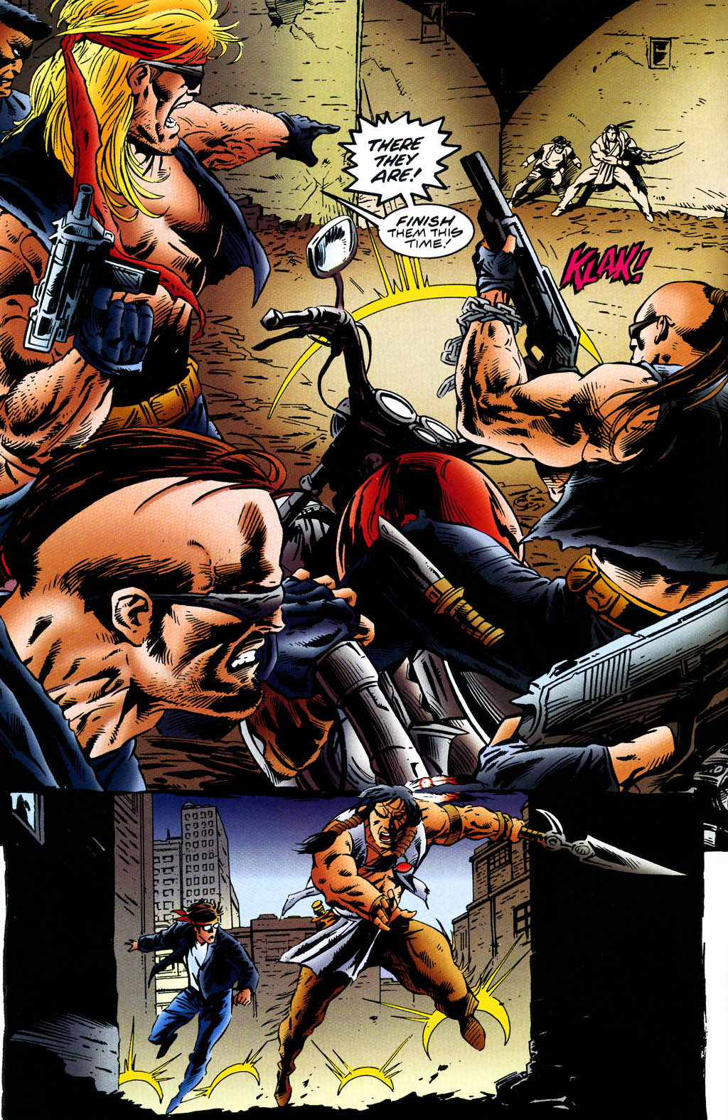 Read online Turok, Dinosaur Hunter (1993) comic -  Issue #43 - 3