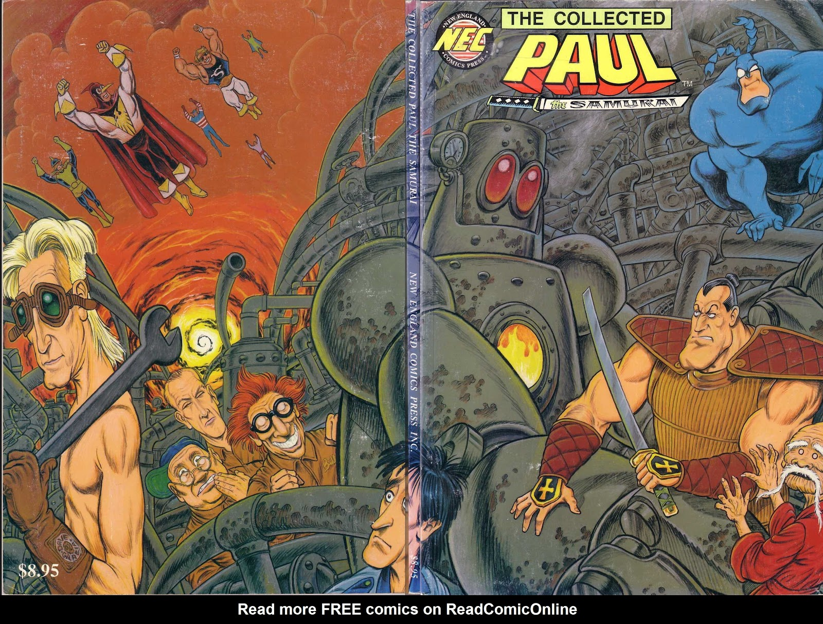 Read online Paul the Samurai (1991) comic -  Issue # TPB - 1