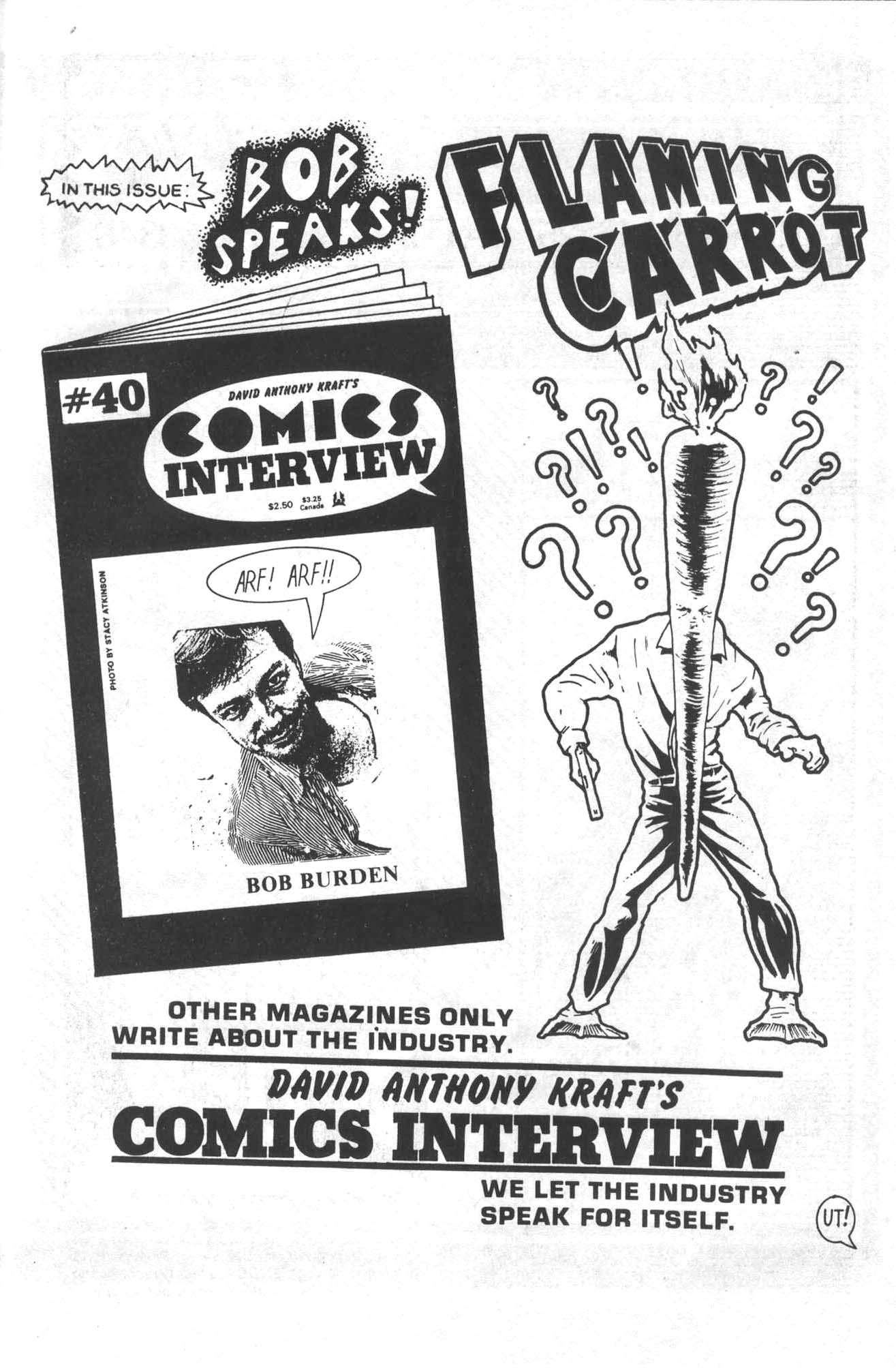 Read online Flaming Carrot Comics (1984) comic -  Issue #14 - 33