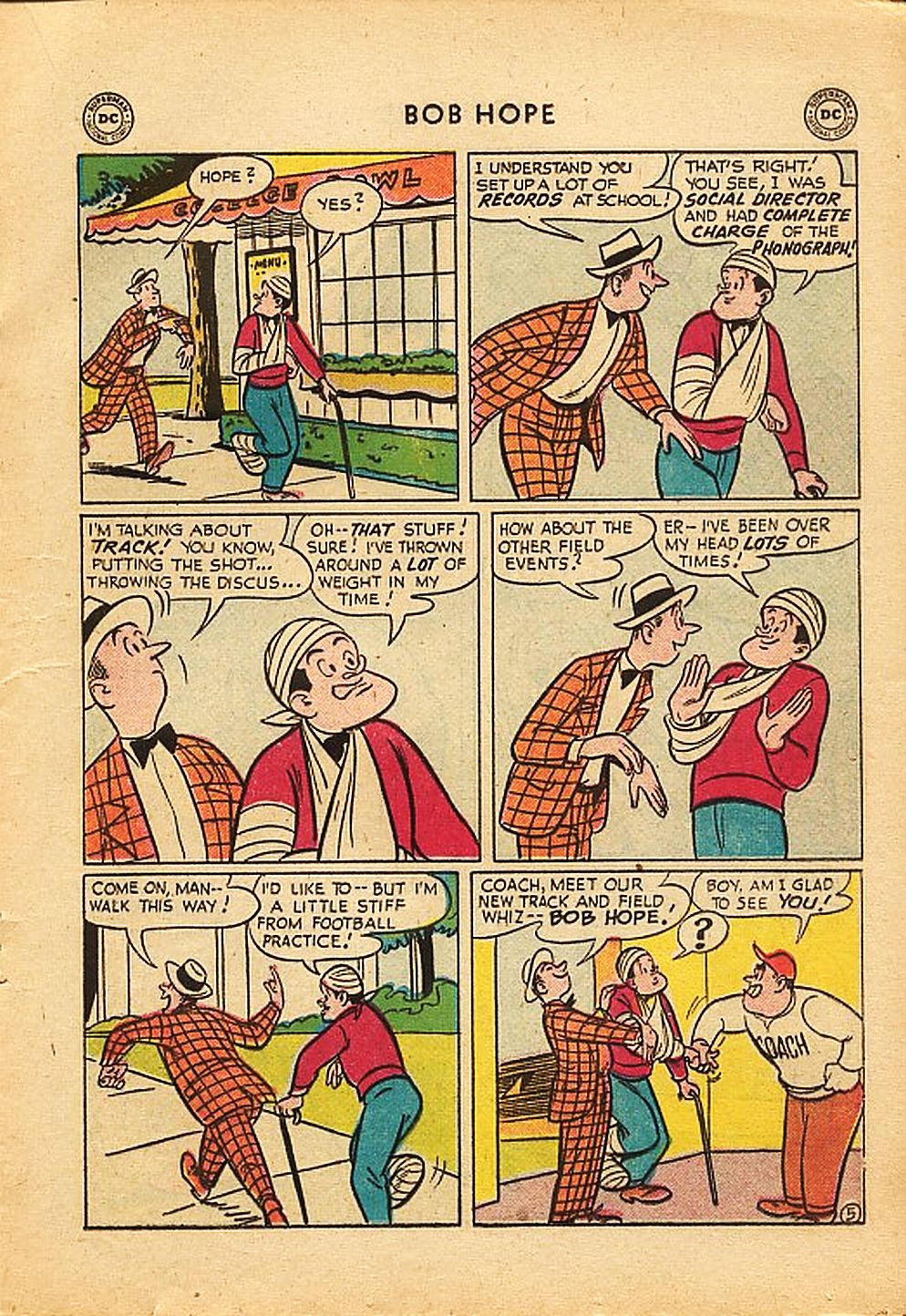 The Adventures of Bob Hope issue 42 - Page 17