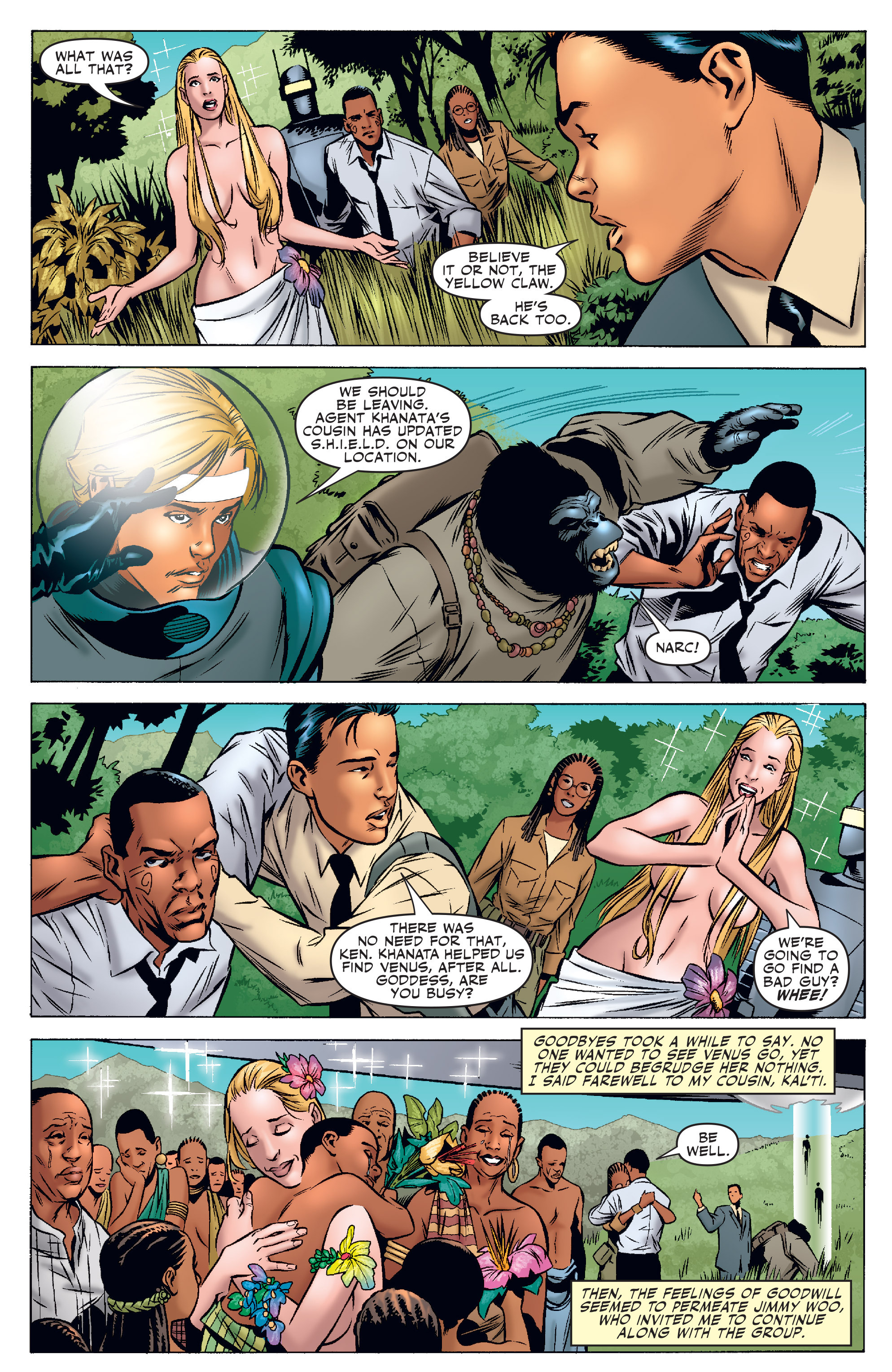 Read online Agents Of Atlas (2006) comic -  Issue #3 - 8