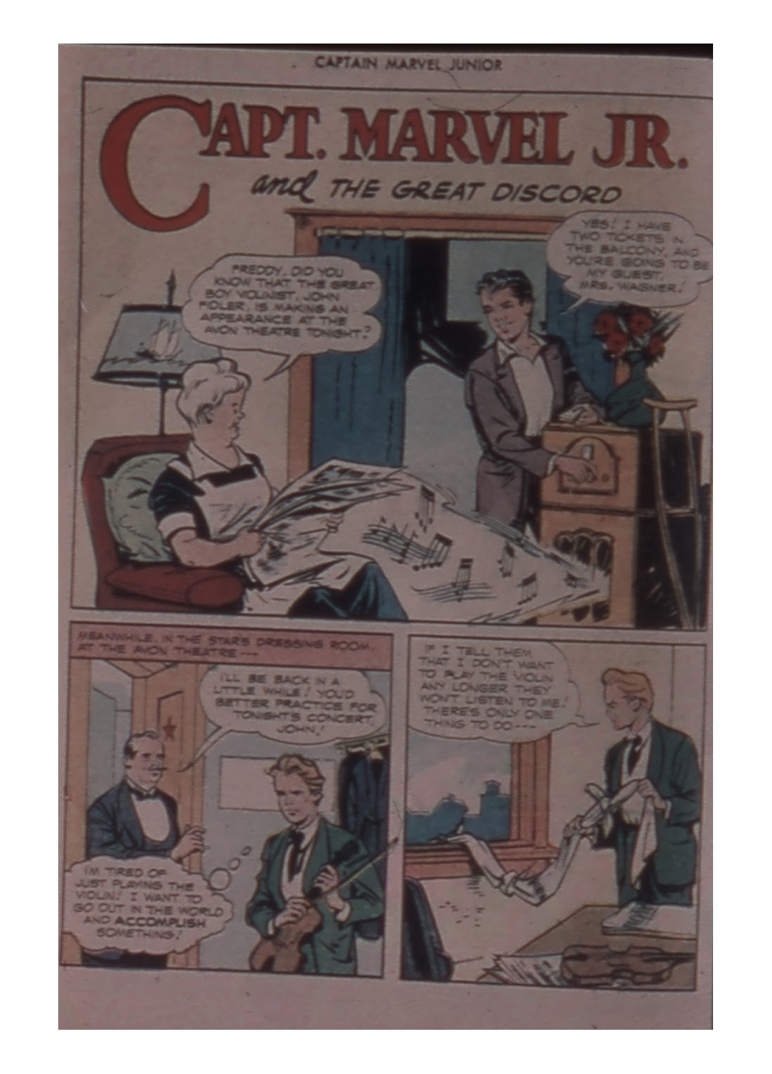 Captain Marvel, Jr. issue 59 - Page 16