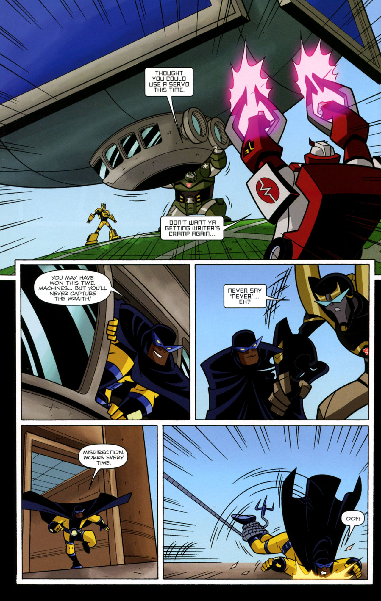 Read online Transformers Animated: The Arrival comic -  Issue #2 - 20