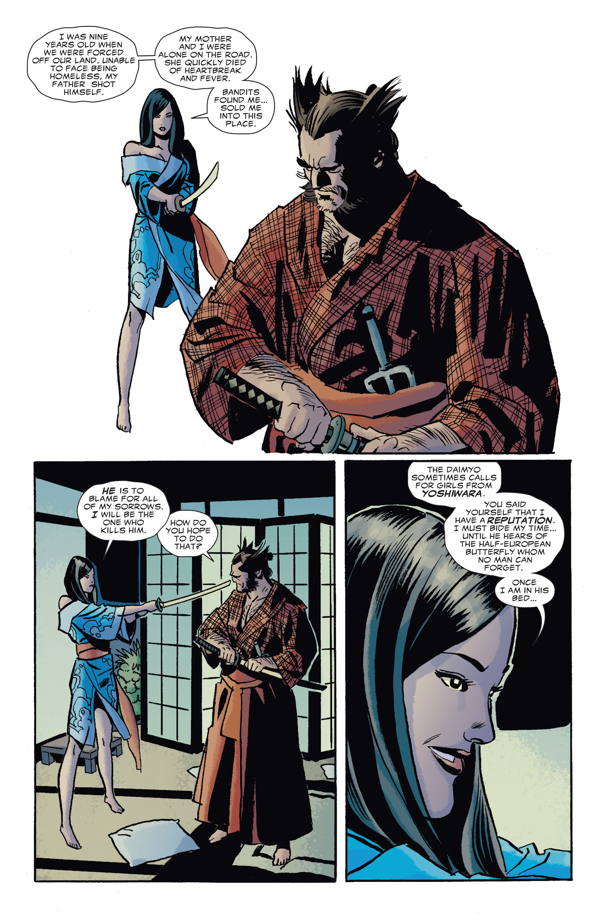 Read online 5 Ronin (2011) comic -  Issue #4 - 18