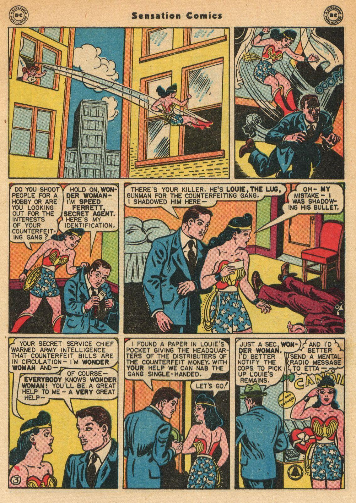 Read online Sensation (Mystery) Comics comic -  Issue #51 - 5
