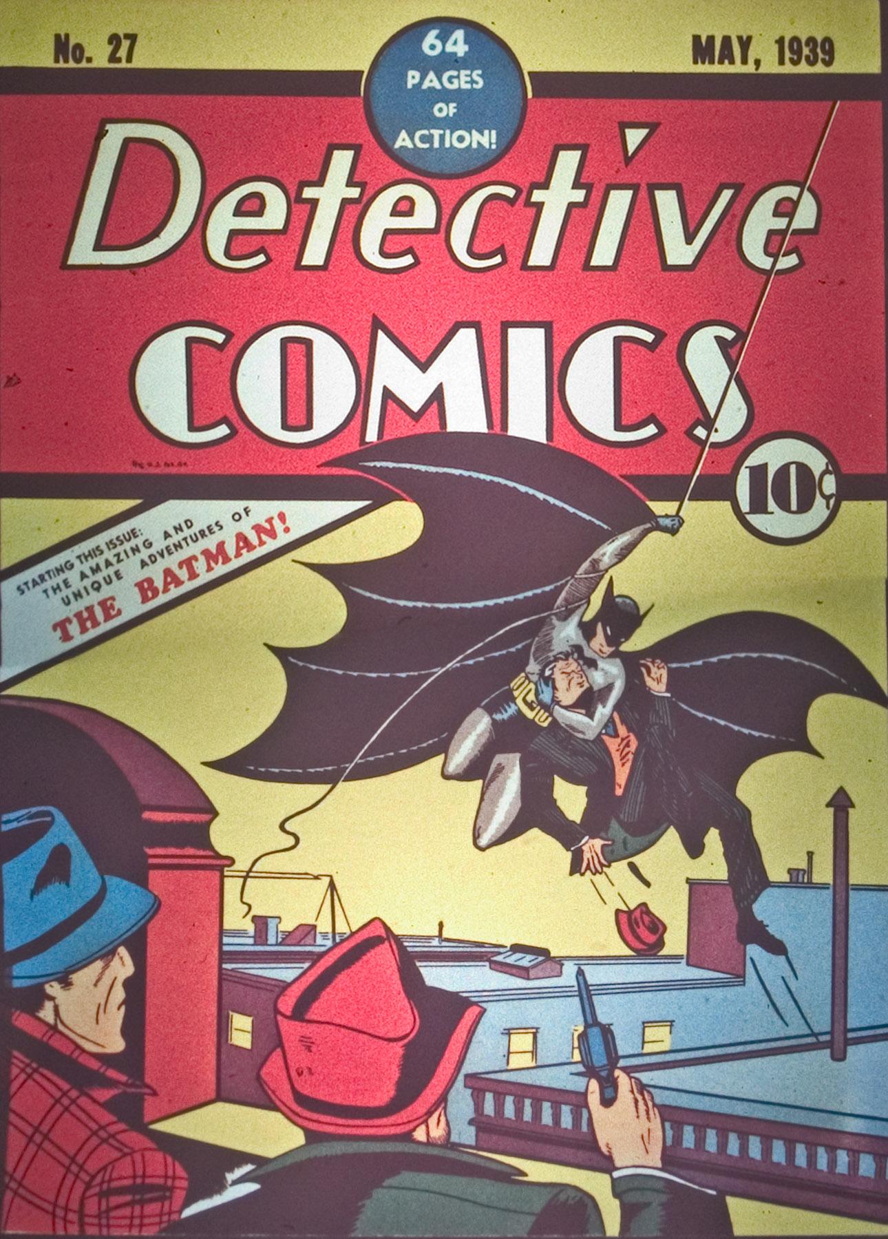 Read online Detective Comics (1937) comic -  Issue #27 - 1