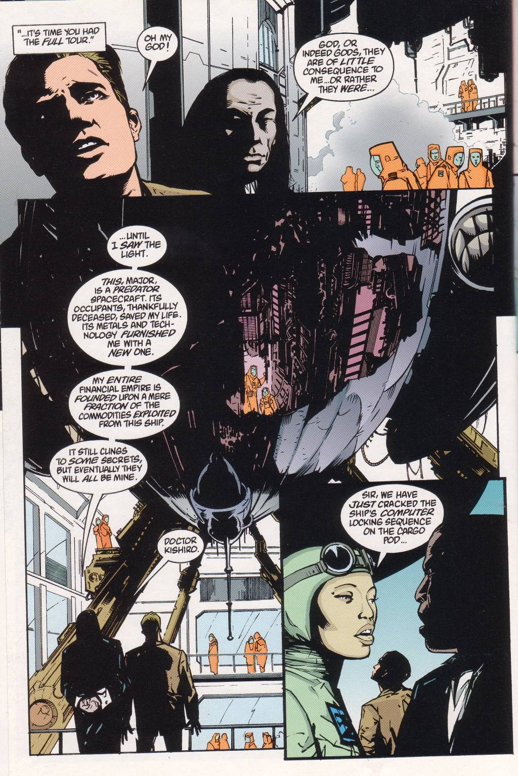 Aliens vs. Predator: Eternal issue 1 - Page 18