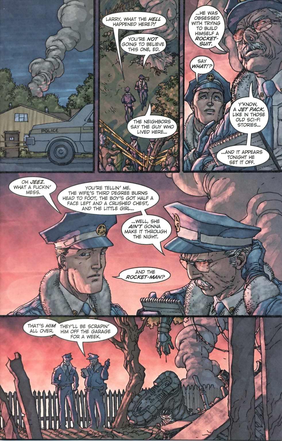 Read online Flinch comic -  Issue #1 - 8