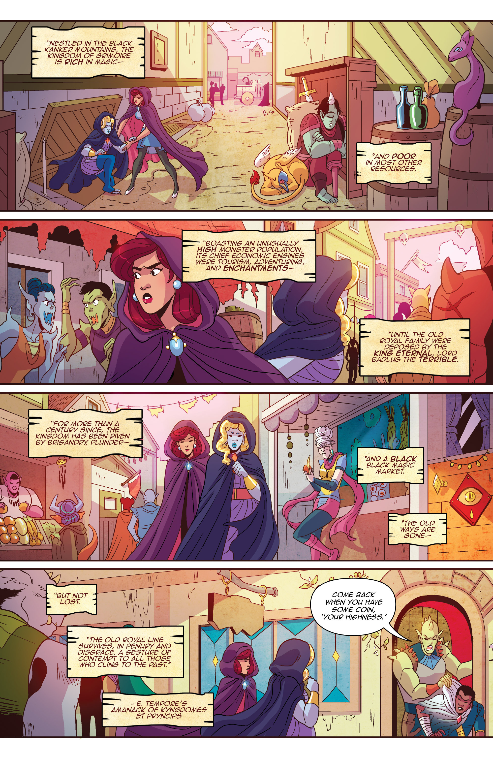 Read online Another Castle comic -  Issue #2 - 9
