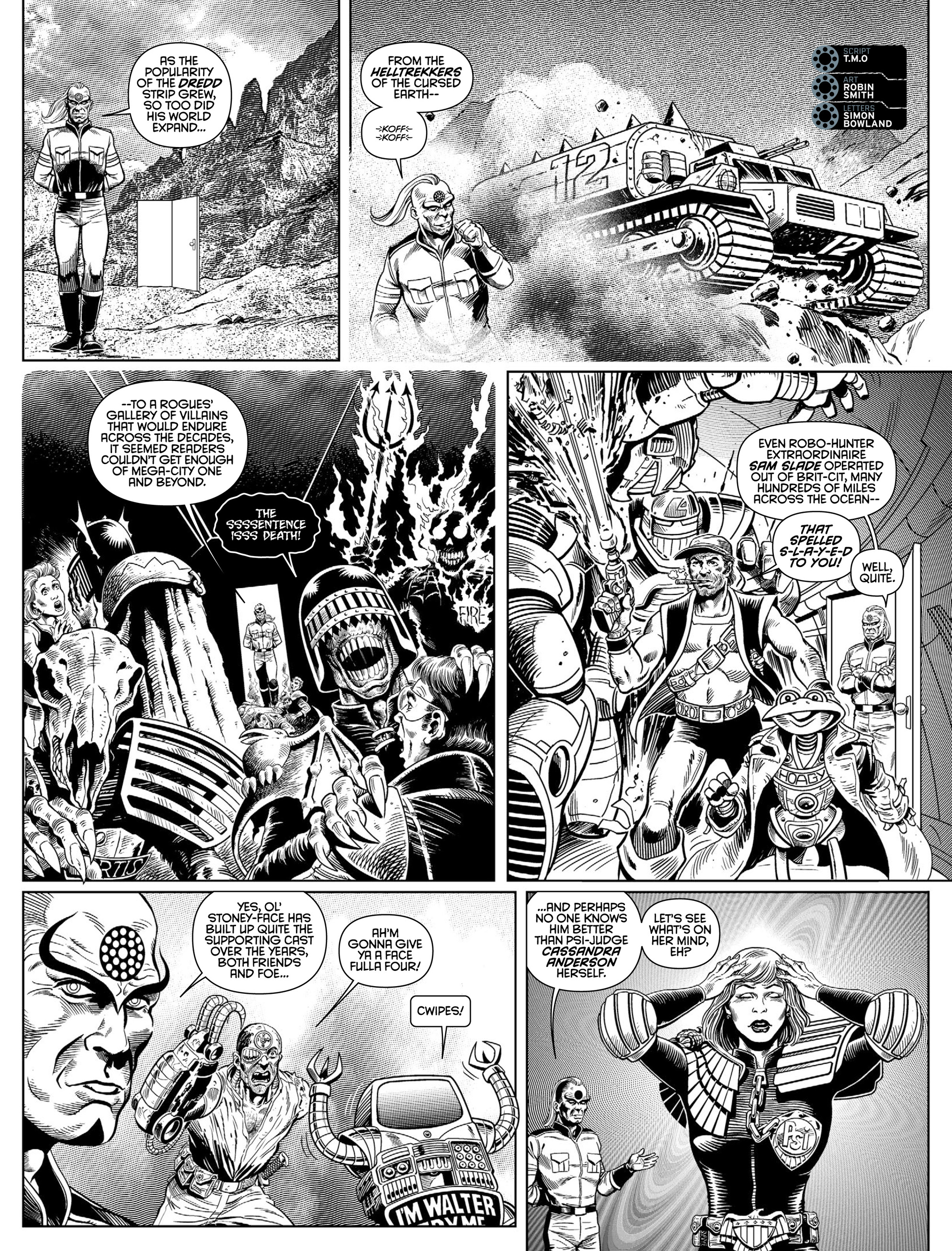 Read online 2000 AD comic -  Issue #2000 - 32