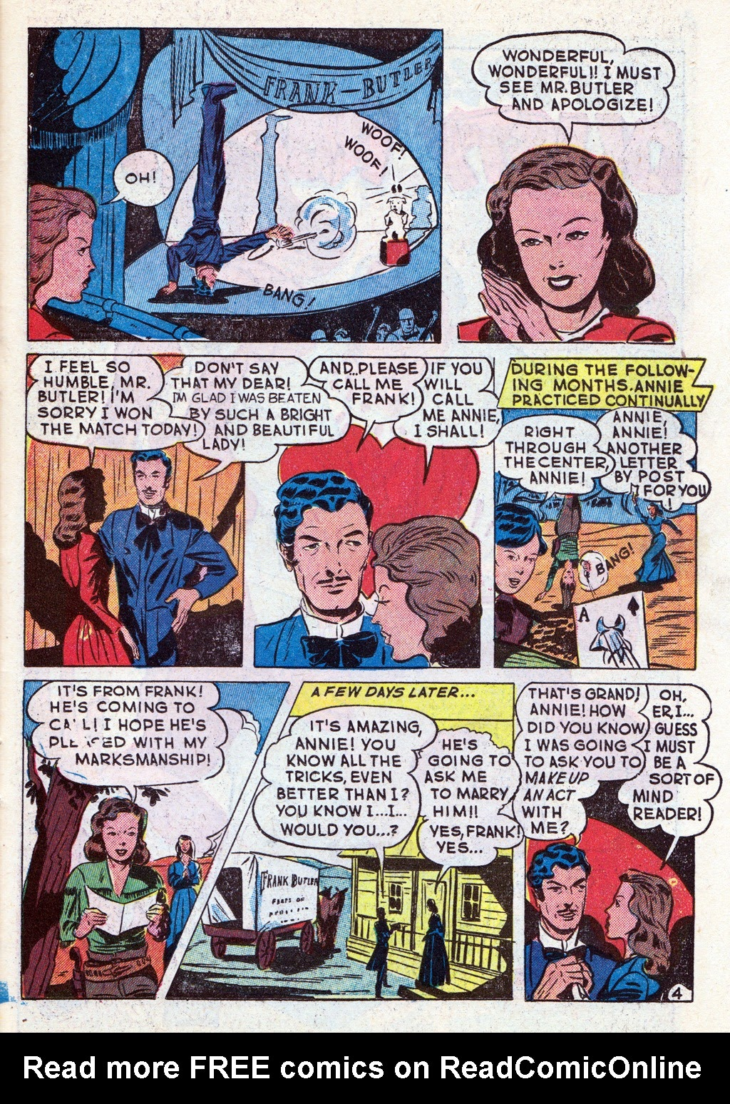 Cowboy Western Comics (1948) issue 18 - Page 23