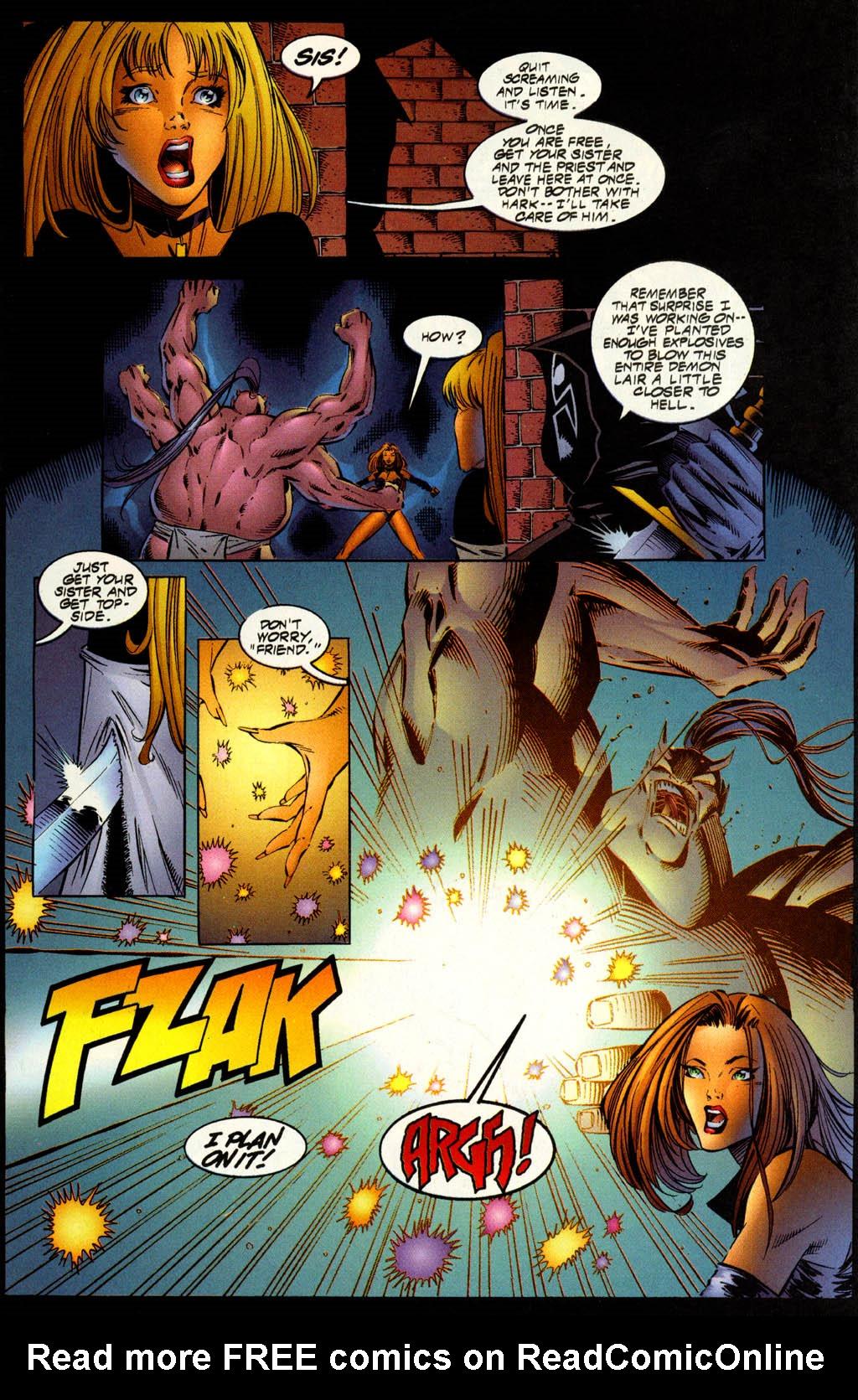Read online Avengelyne (1996) comic -  Issue #7 - 13