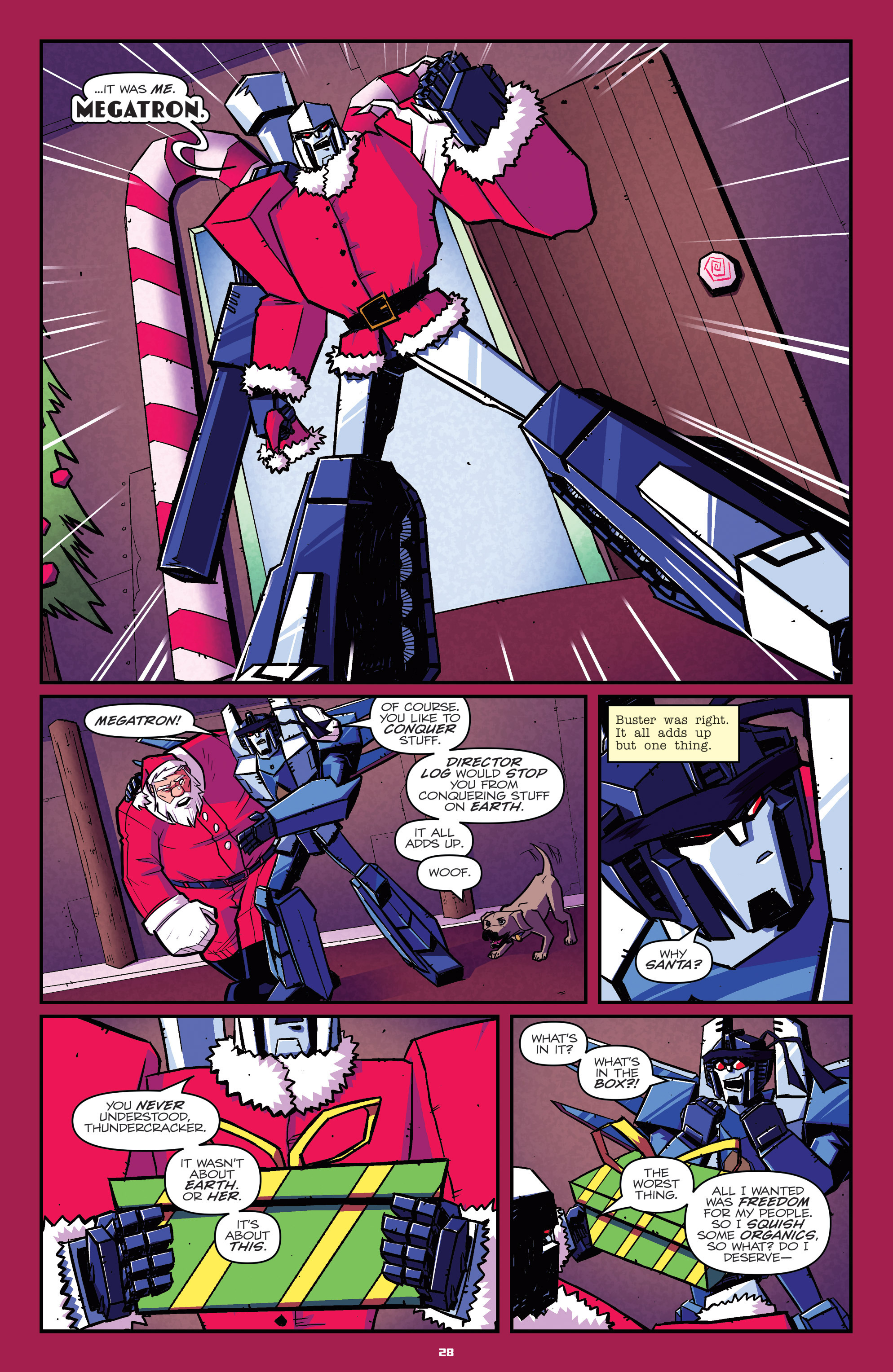 Read online Transformers: Holiday Special comic -  Issue # Full - 30