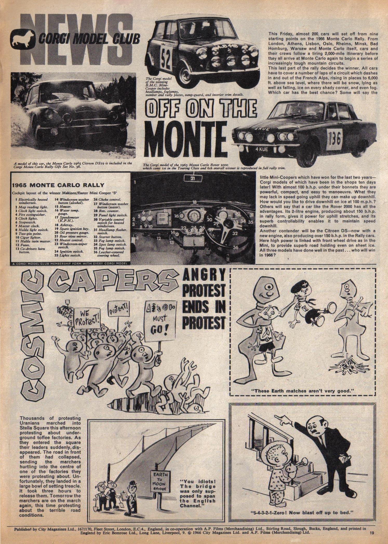 Read online TV Century 21 (TV 21) comic -  Issue #52 - 18