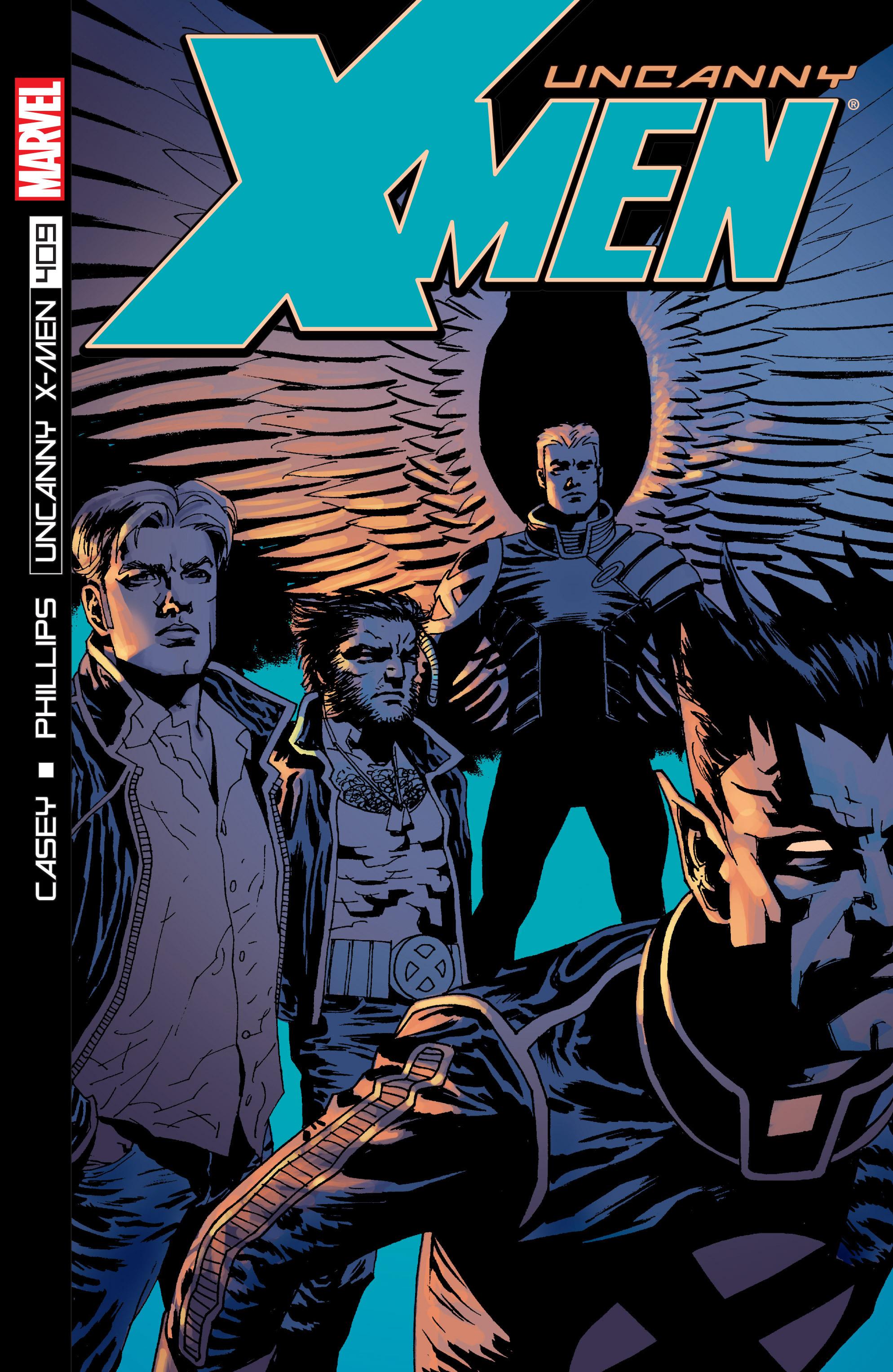 Read online Uncanny X-Men (1963) comic -  Issue #409 - 1