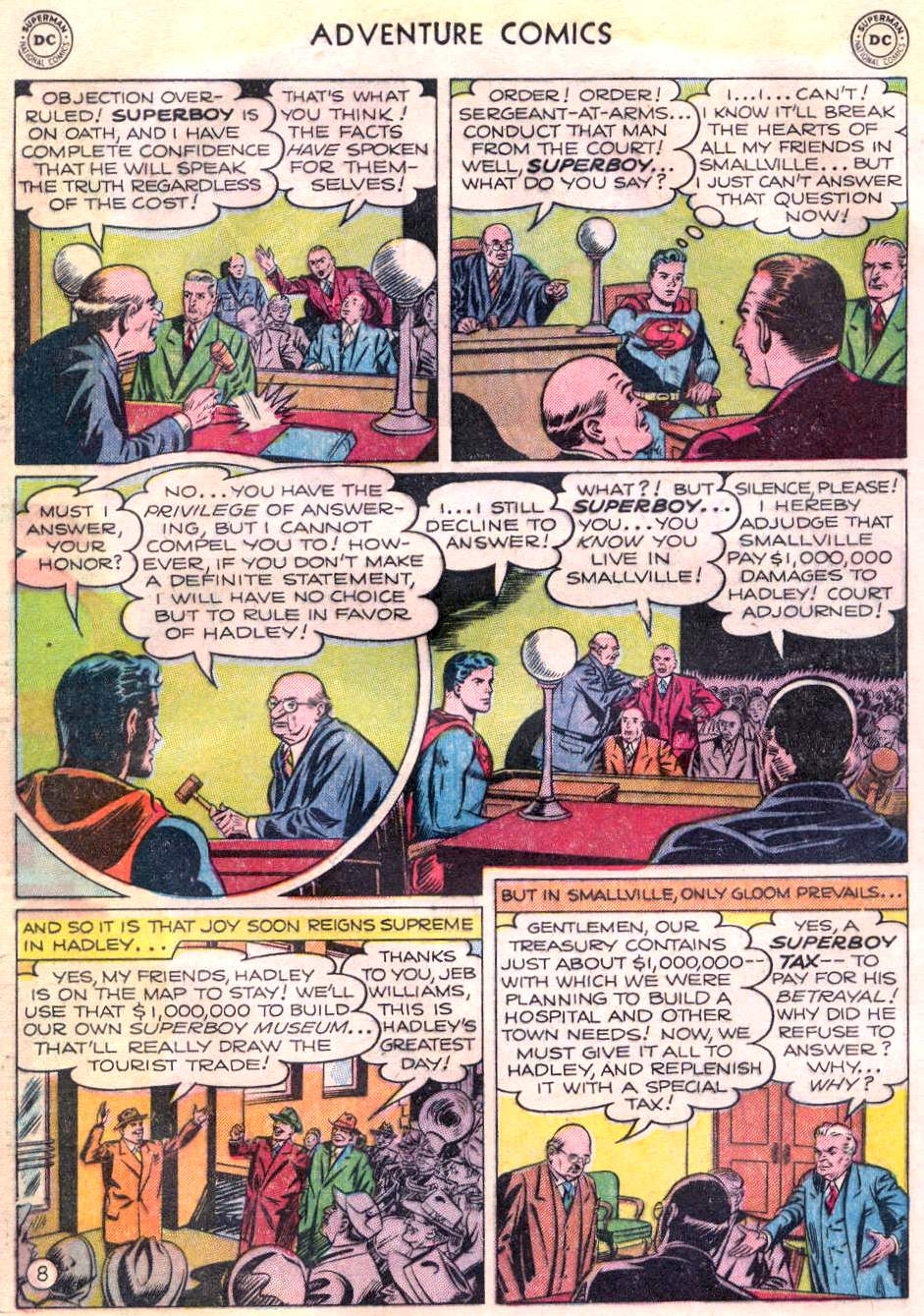 Read online Adventure Comics (1938) comic -  Issue #166 - 9