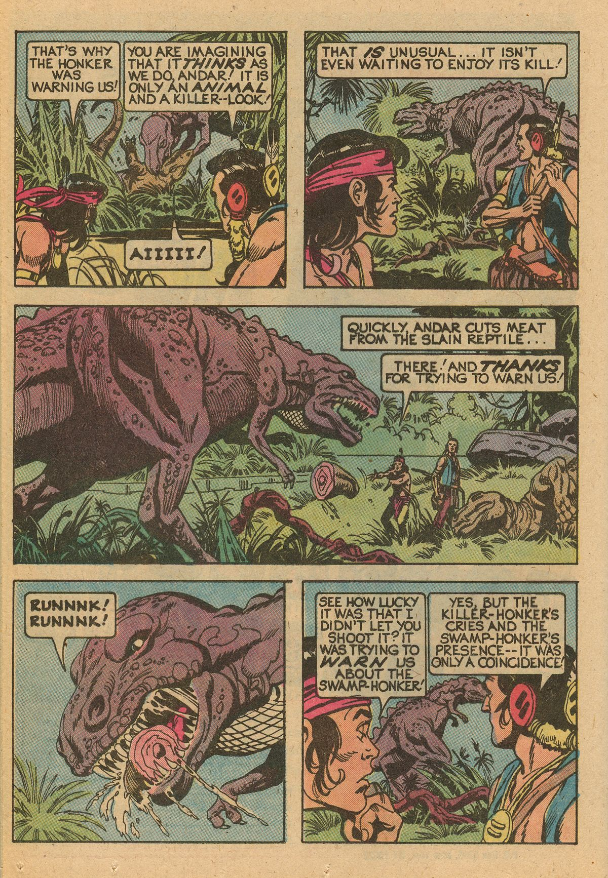 Read online Turok, Son of Stone comic -  Issue #115 - 40