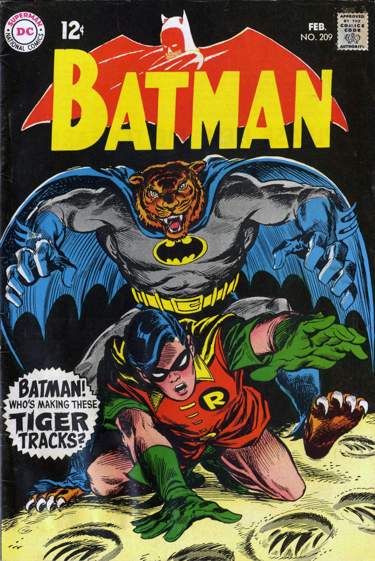 Batman (1940) 209 Page 1