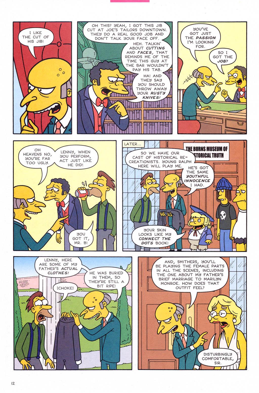 Read online Simpsons Comics comic -  Issue #109 - 13