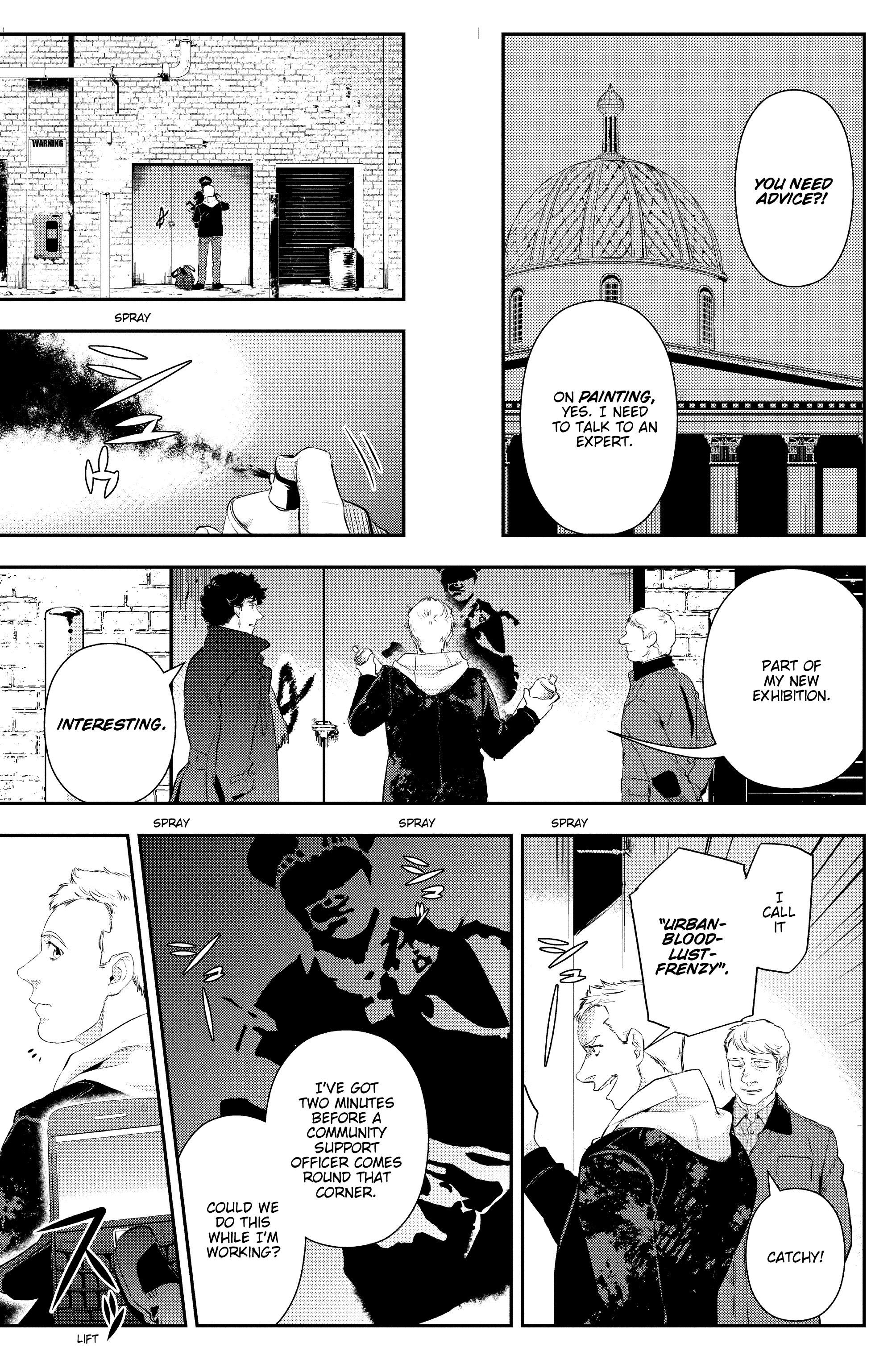 Read online Sherlock: The Blind Banker comic -  Issue #3 - 9
