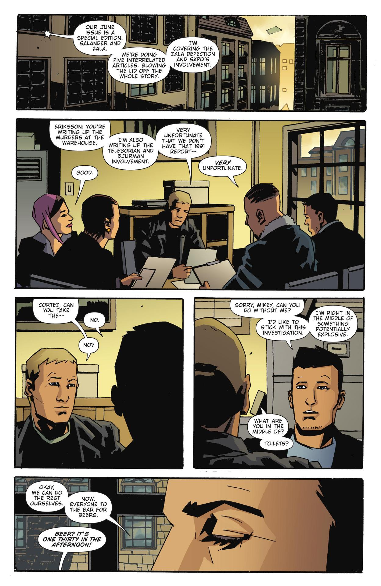 Read online The Girl Who Kicked The Hornet's Nest comic -  Issue # TPB - 133