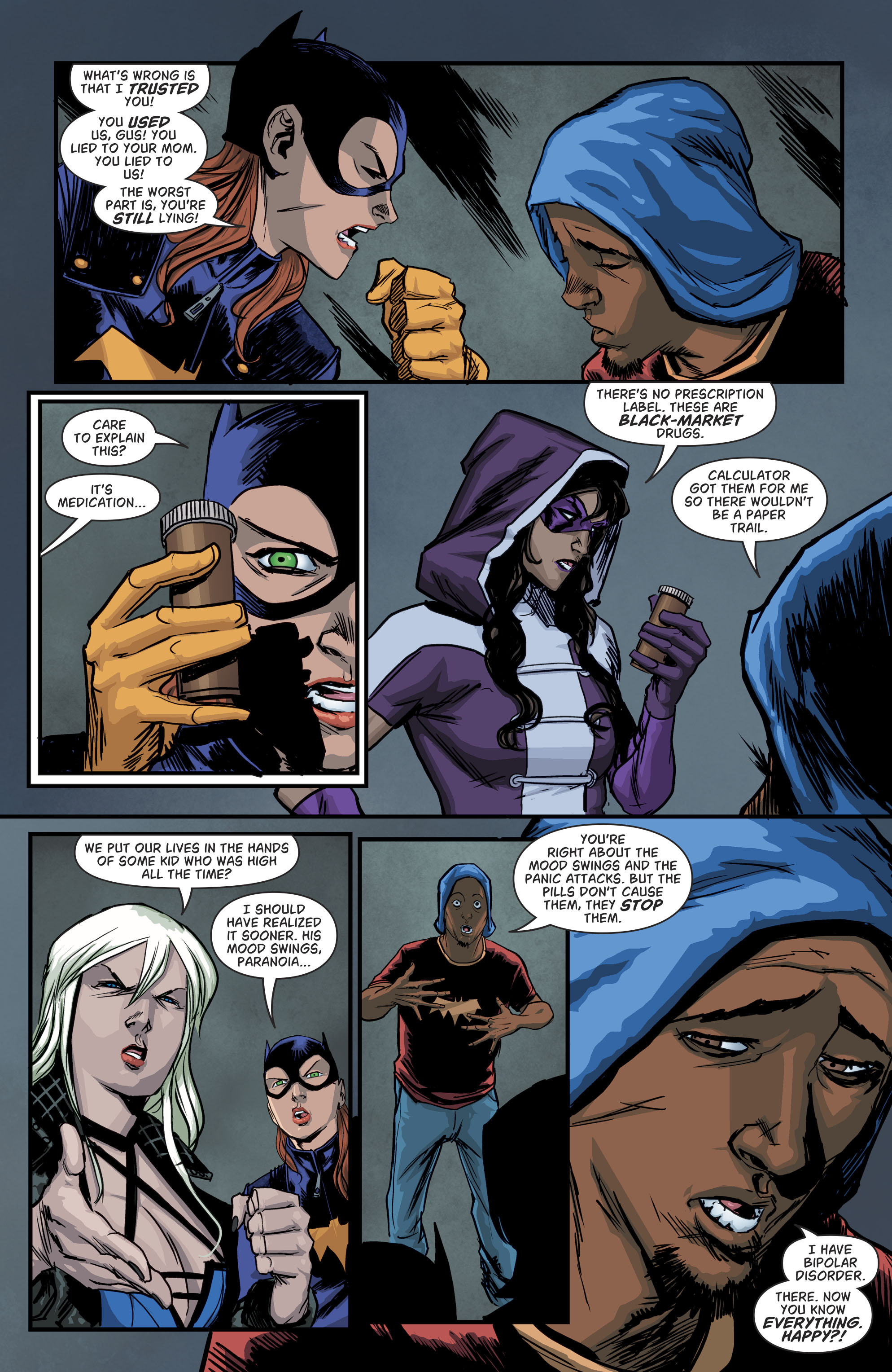 Read online Batgirl and the Birds of Prey comic -  Issue #11 - 15