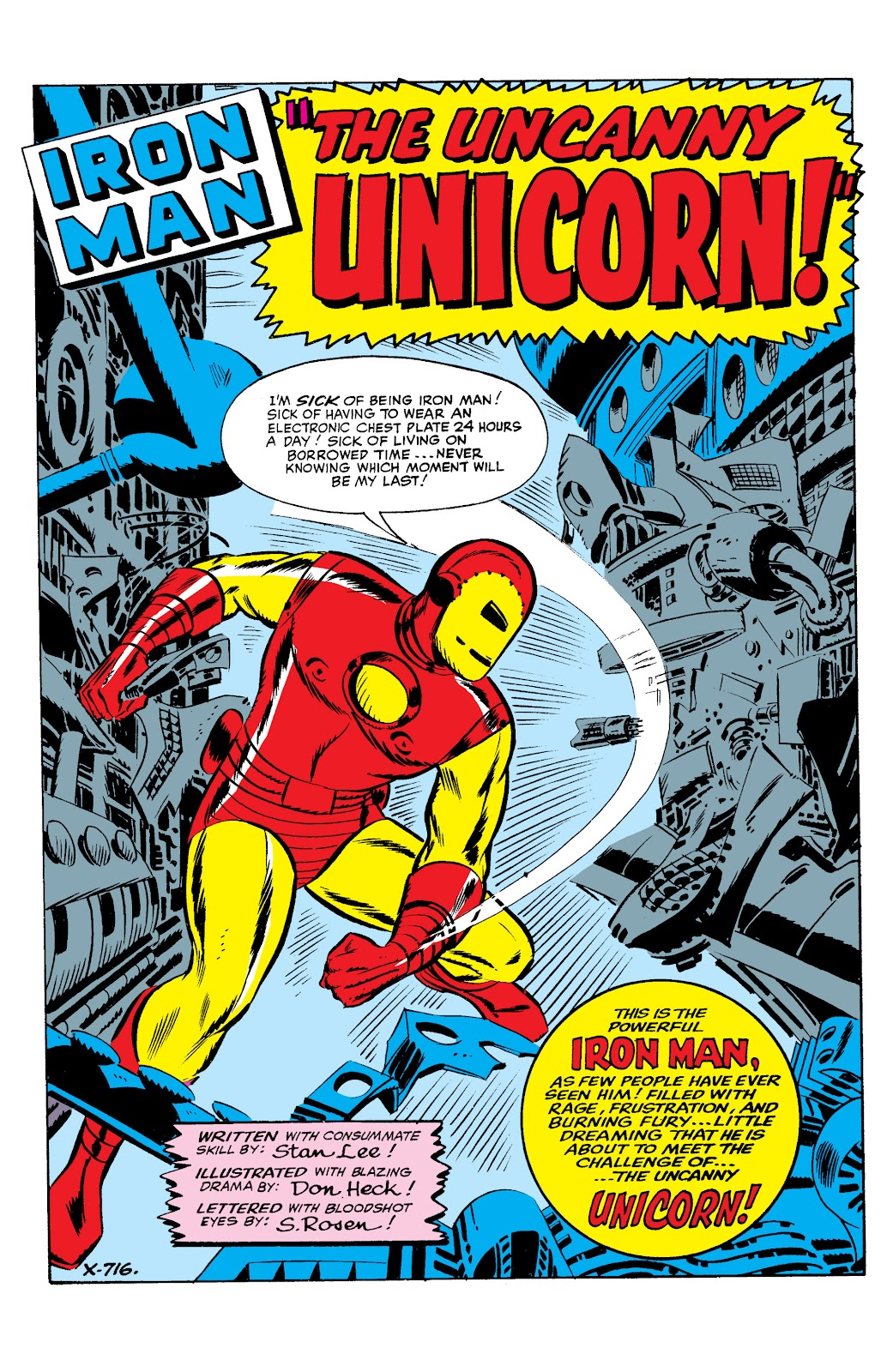 Read online Marvel Masterworks: The Invincible Iron Man comic -  Issue # TPB 2 (Part 1) - 82