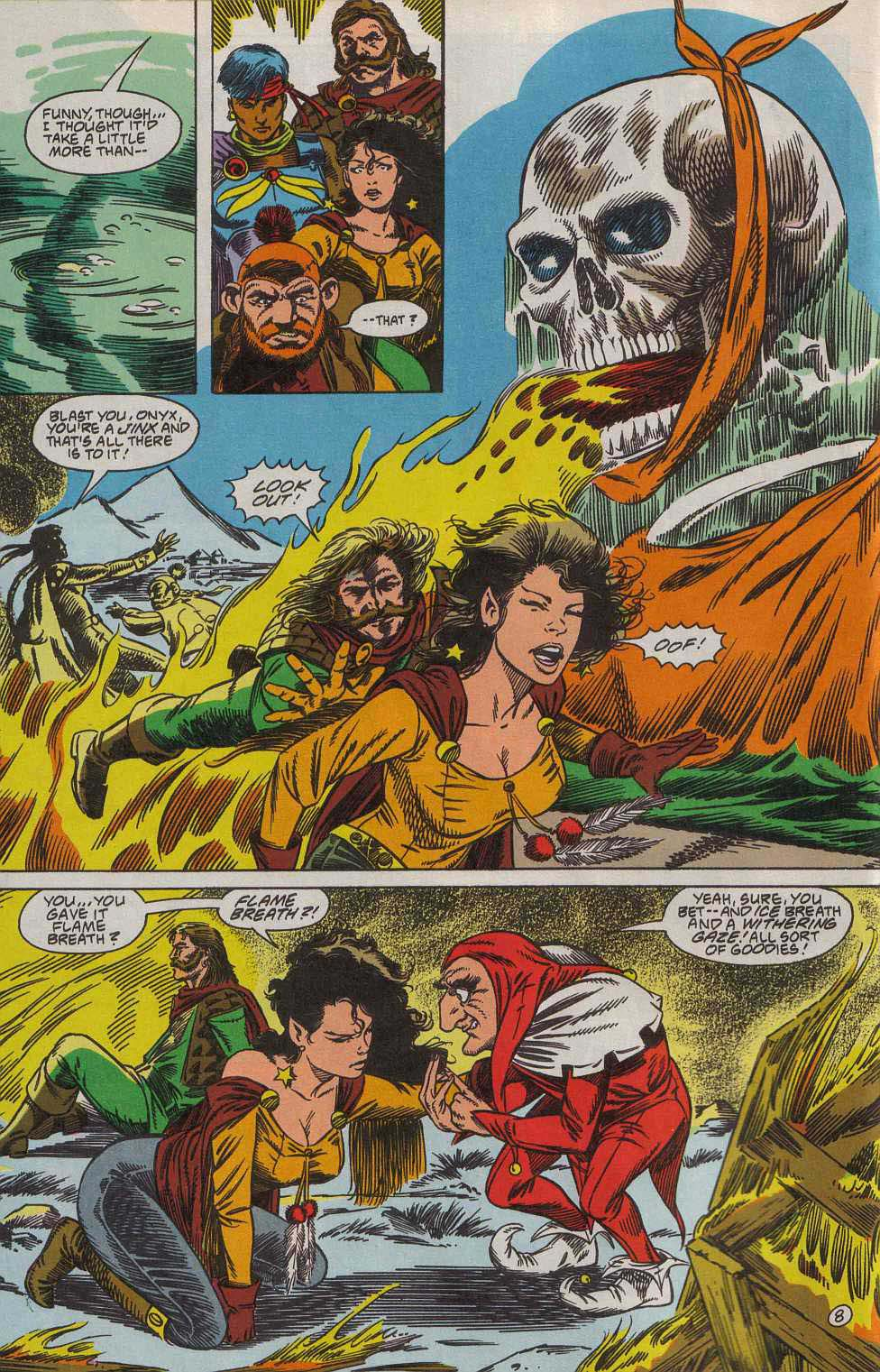 Read online Advanced Dungeons & Dragons comic -  Issue #7 - 9