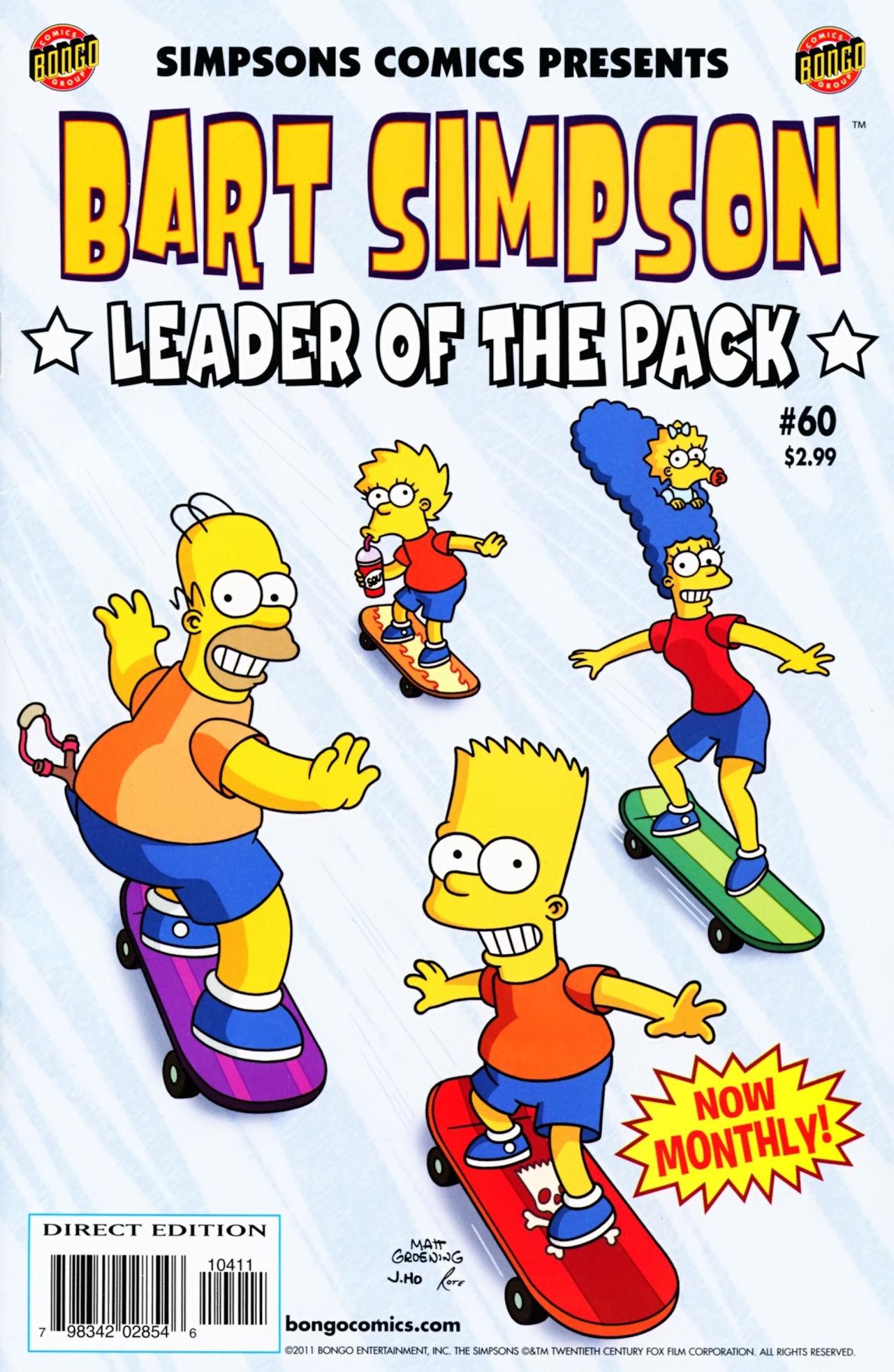Read online Simpsons Comics Presents Bart Simpson comic -  Issue #60 - 1