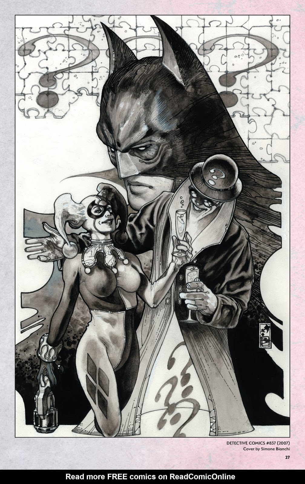 Read online Harley Quinn: A Rogue's Gallery―The Deluxe Cover Art Collection comic -  Issue # TPB (Part 1) - 26