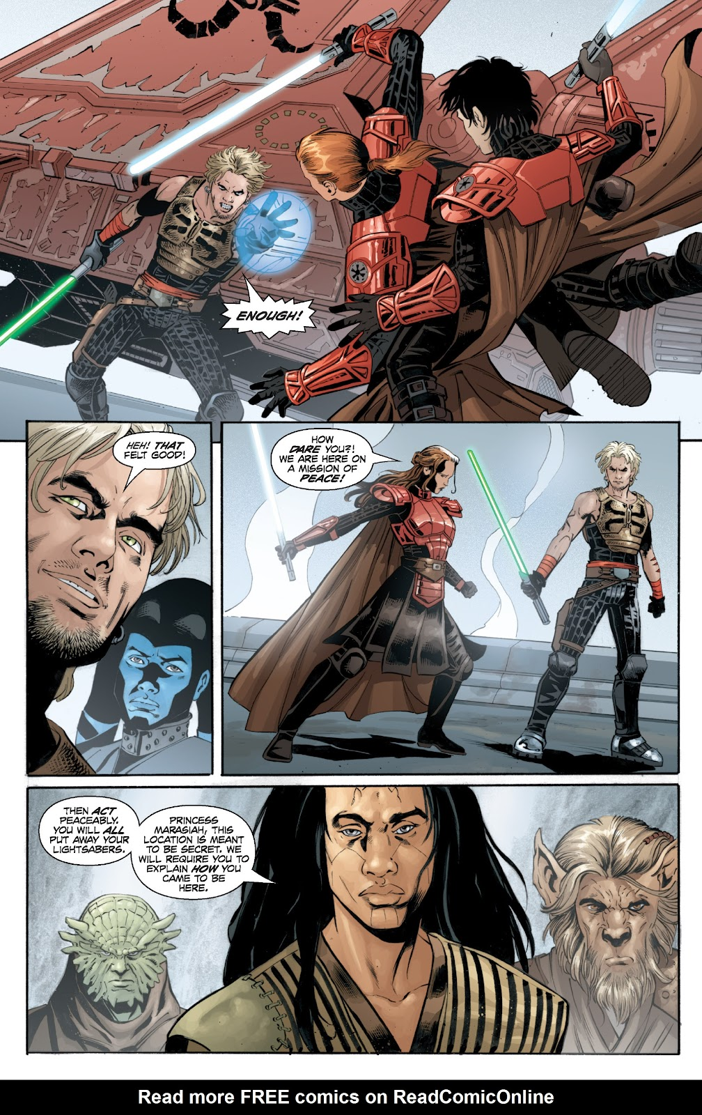 Read online Star Wars Legends: Legacy - Epic Collection comic -  Issue # TPB 2 (Part 2) - 57