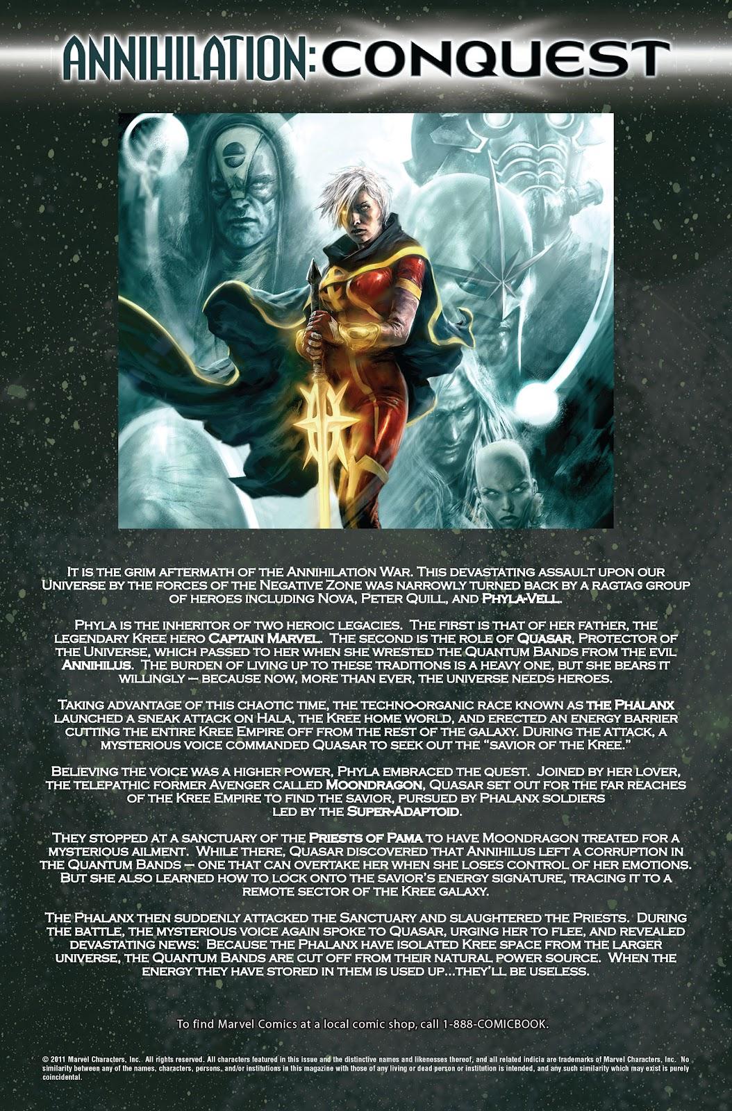 Annihilation: Conquest - Quasar issue 2 - Page 2