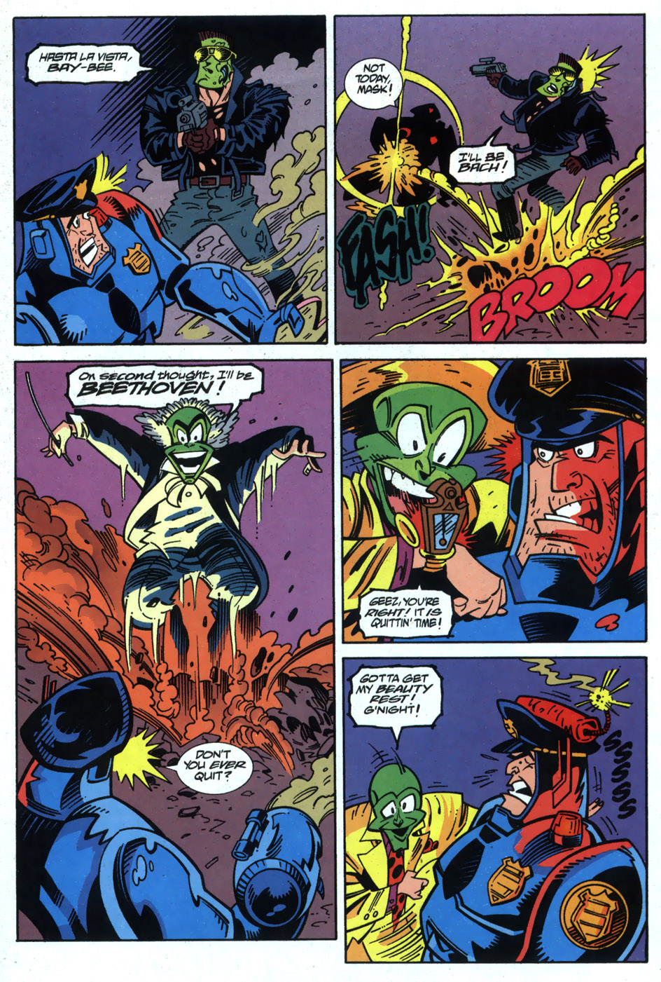 Read online Adventures Of The Mask comic -  Issue #6 - 21