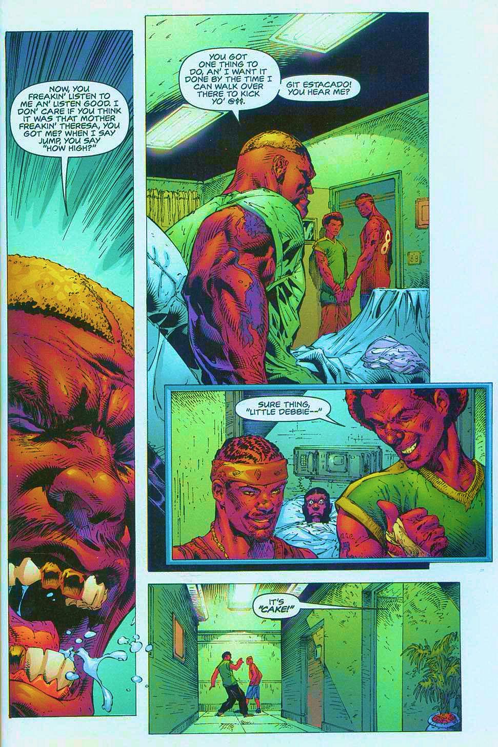 Read online Overkill: Witchblade/Aliens/Darkness/Predator comic -  Issue #1 - 30
