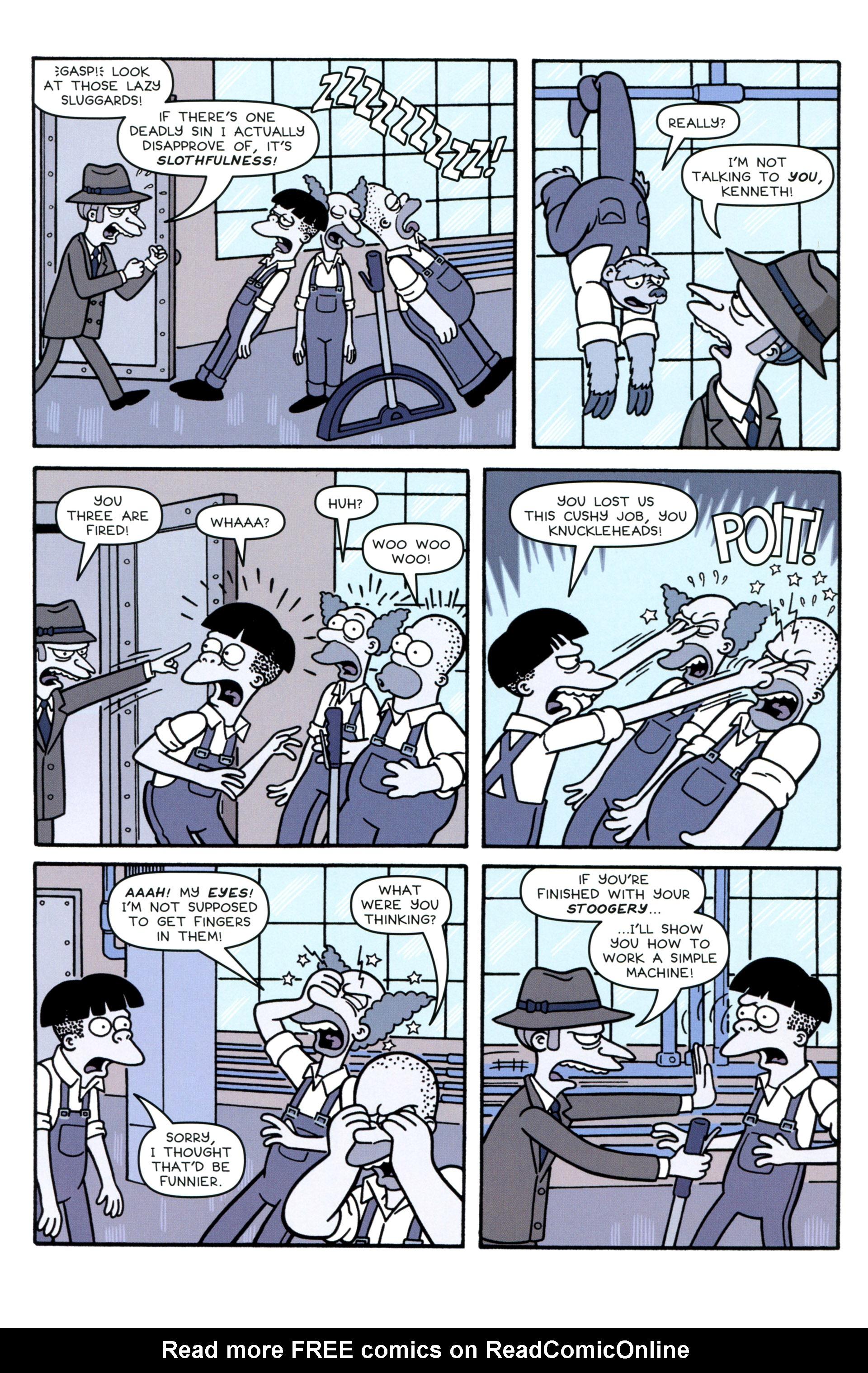 Read online Simpsons Comics comic -  Issue #207 - 15
