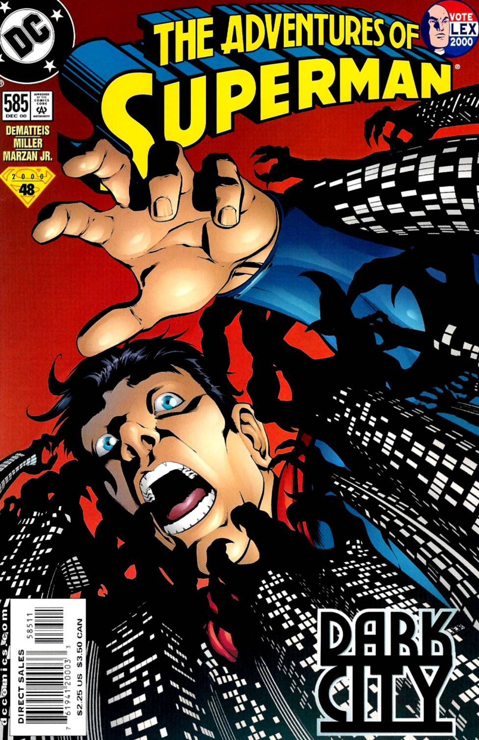 Read online Adventures of Superman (1987) comic -  Issue #585 - 1