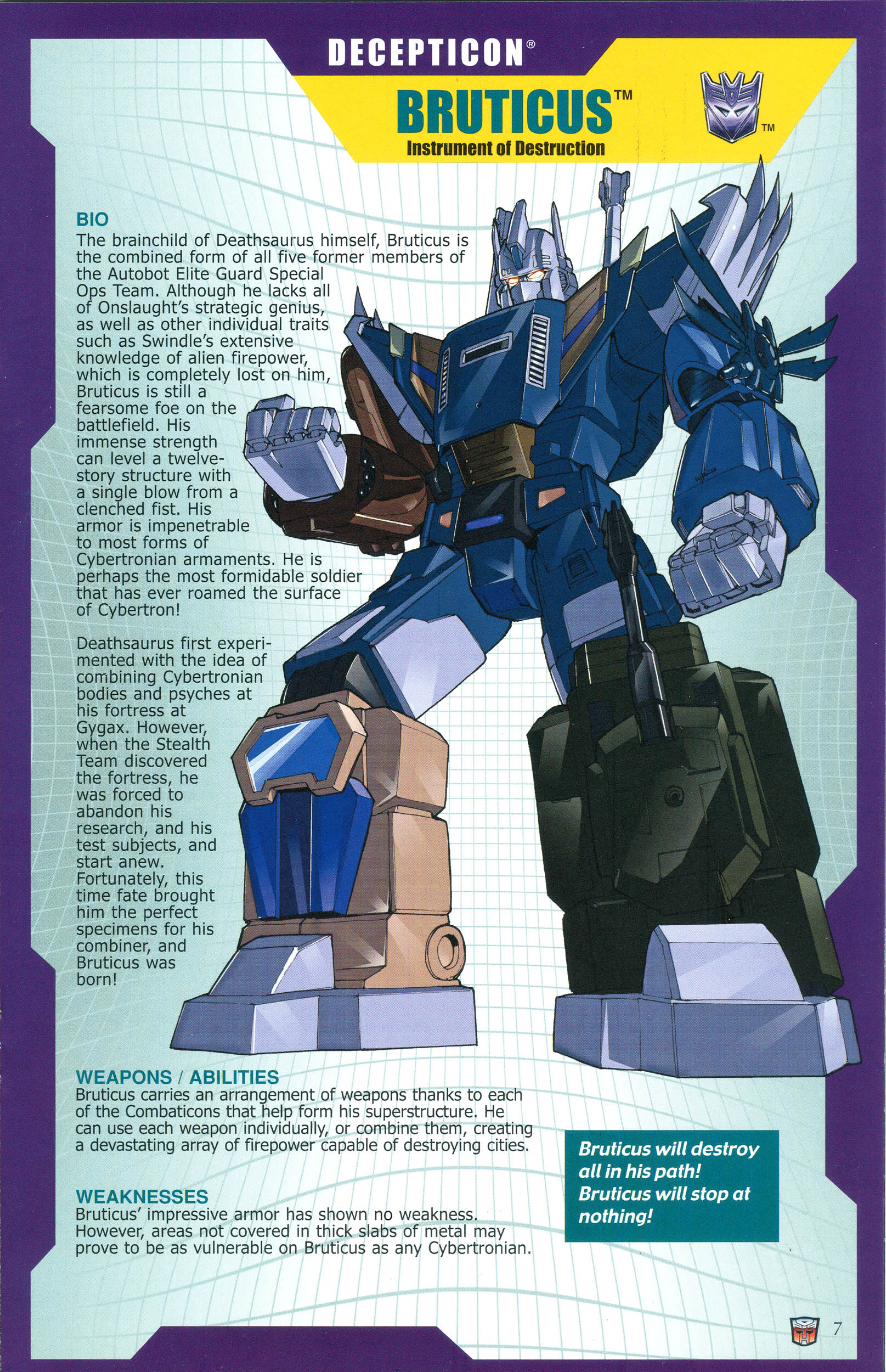 Read online Transformers: Collectors' Club comic -  Issue #36 - 7